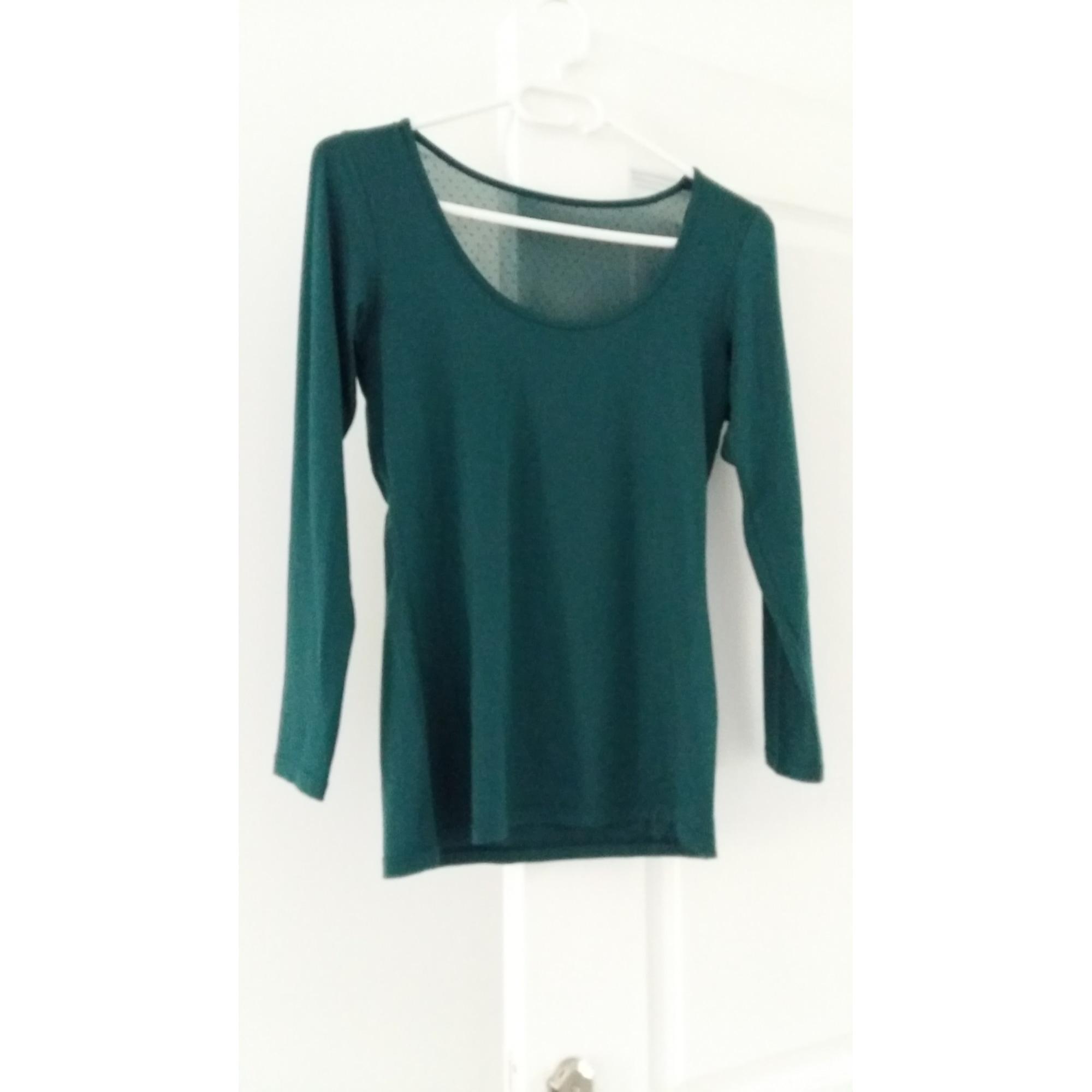 Top, tee-shirt MARQUE INCONNUE Vert