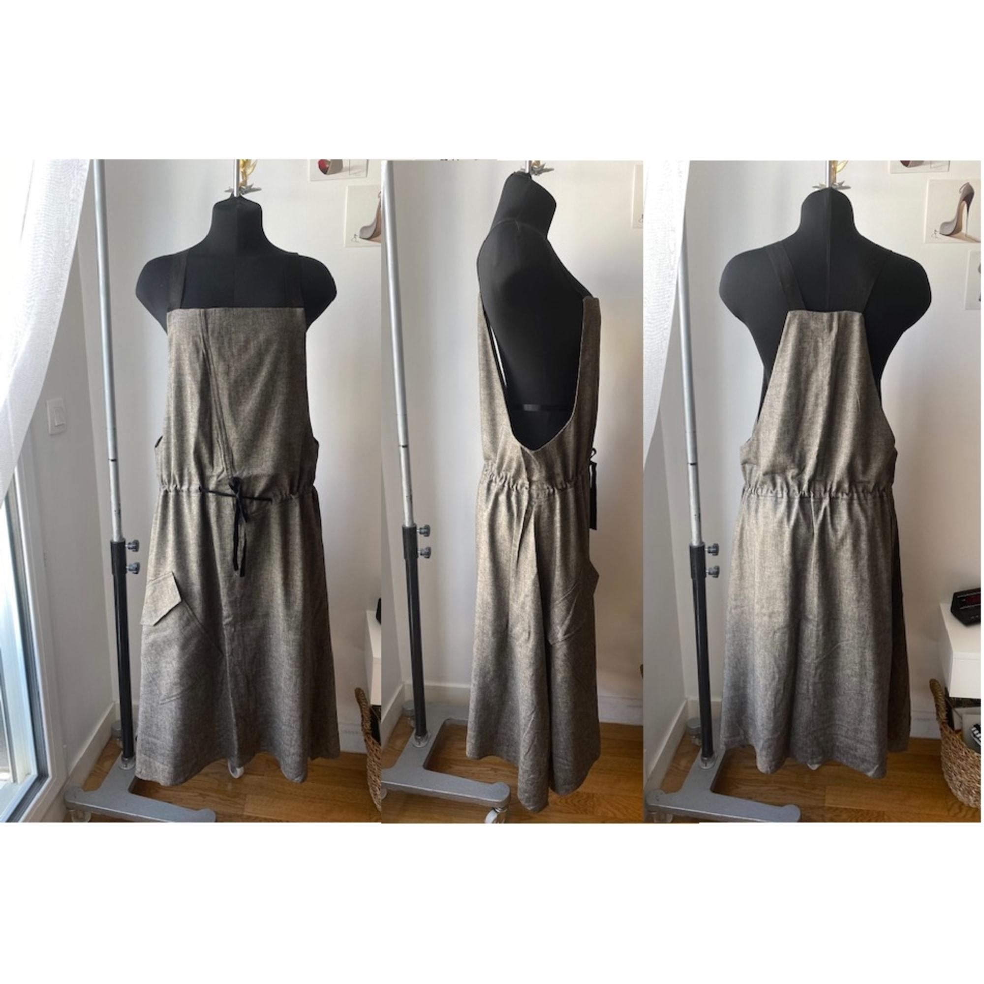 Robe mi-longue CREA CONCEPT Doré, bronze, cuivre
