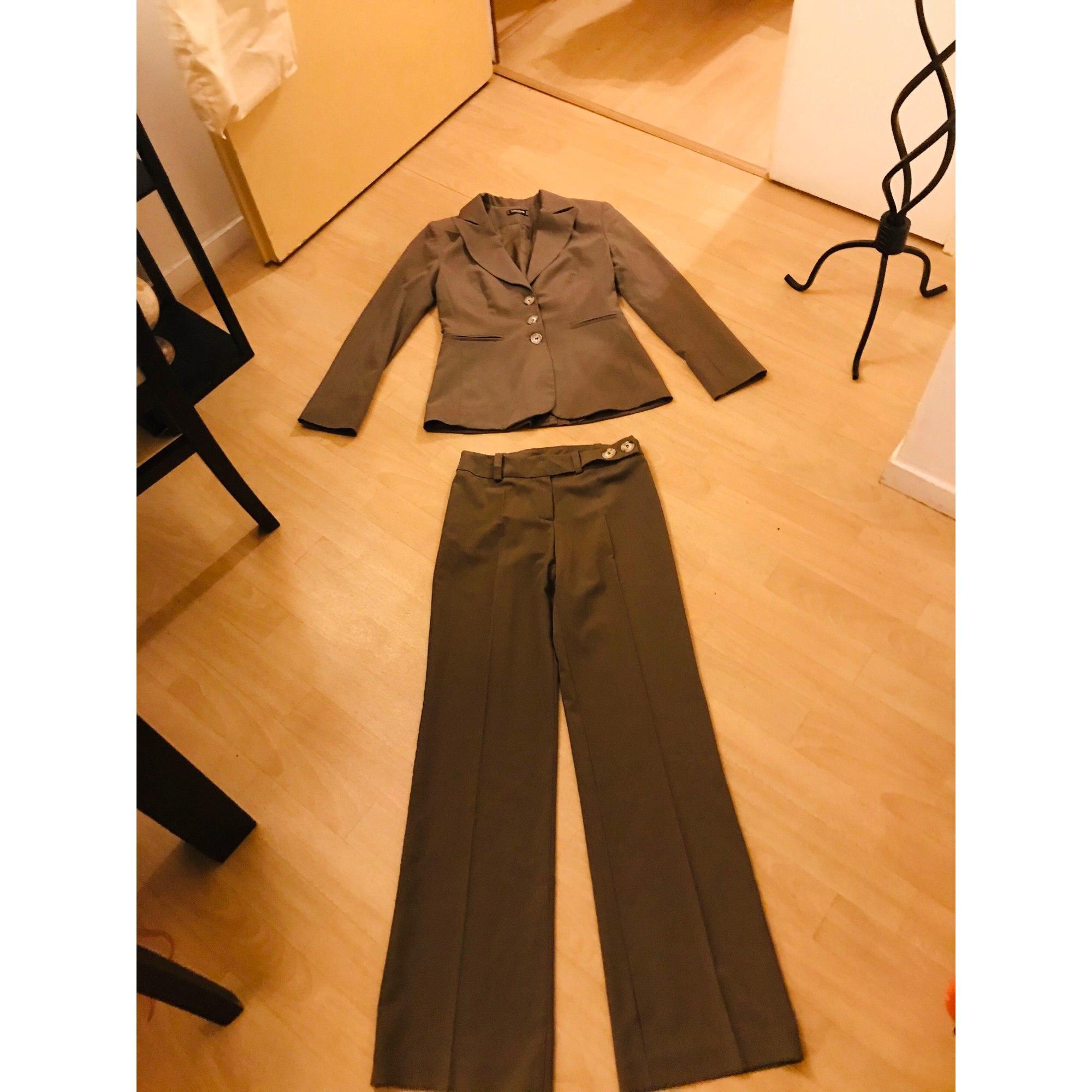 Tailleur pantalon SINÉQUANONE Kaki