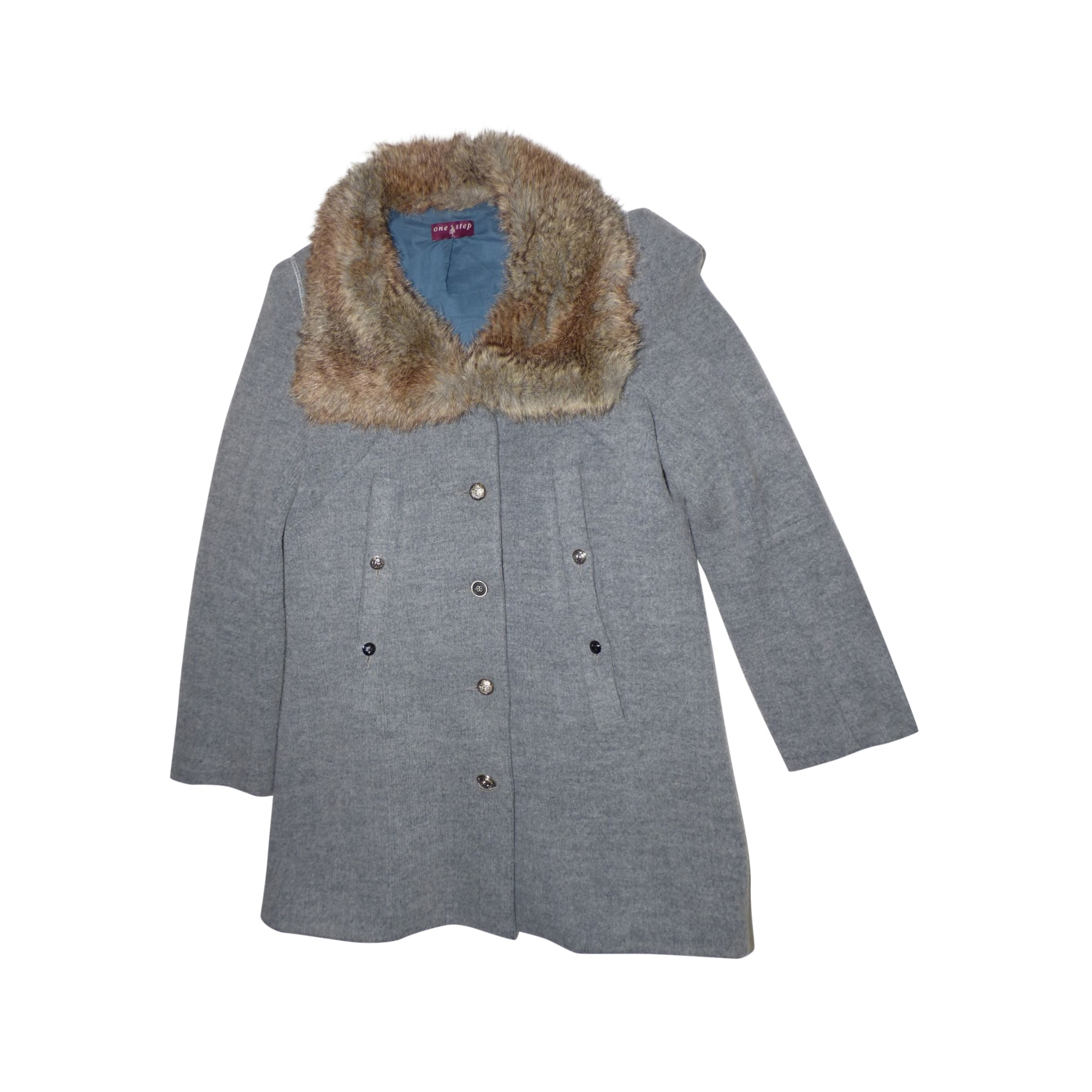 Manteau ONE STEP Gris, anthracite