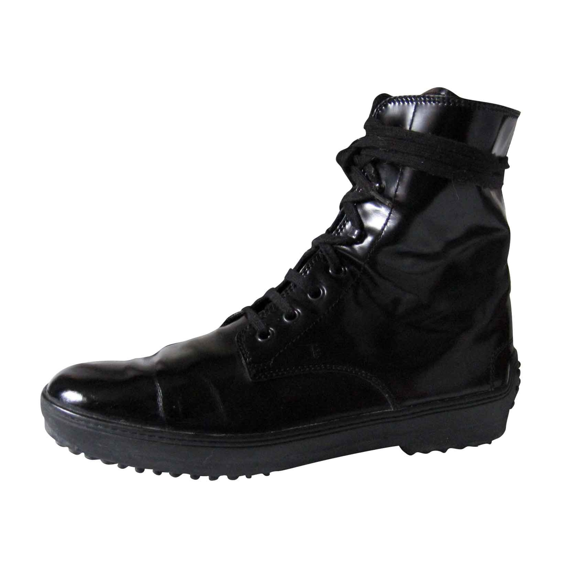 Bottines & low boots plates TOD'S Noir