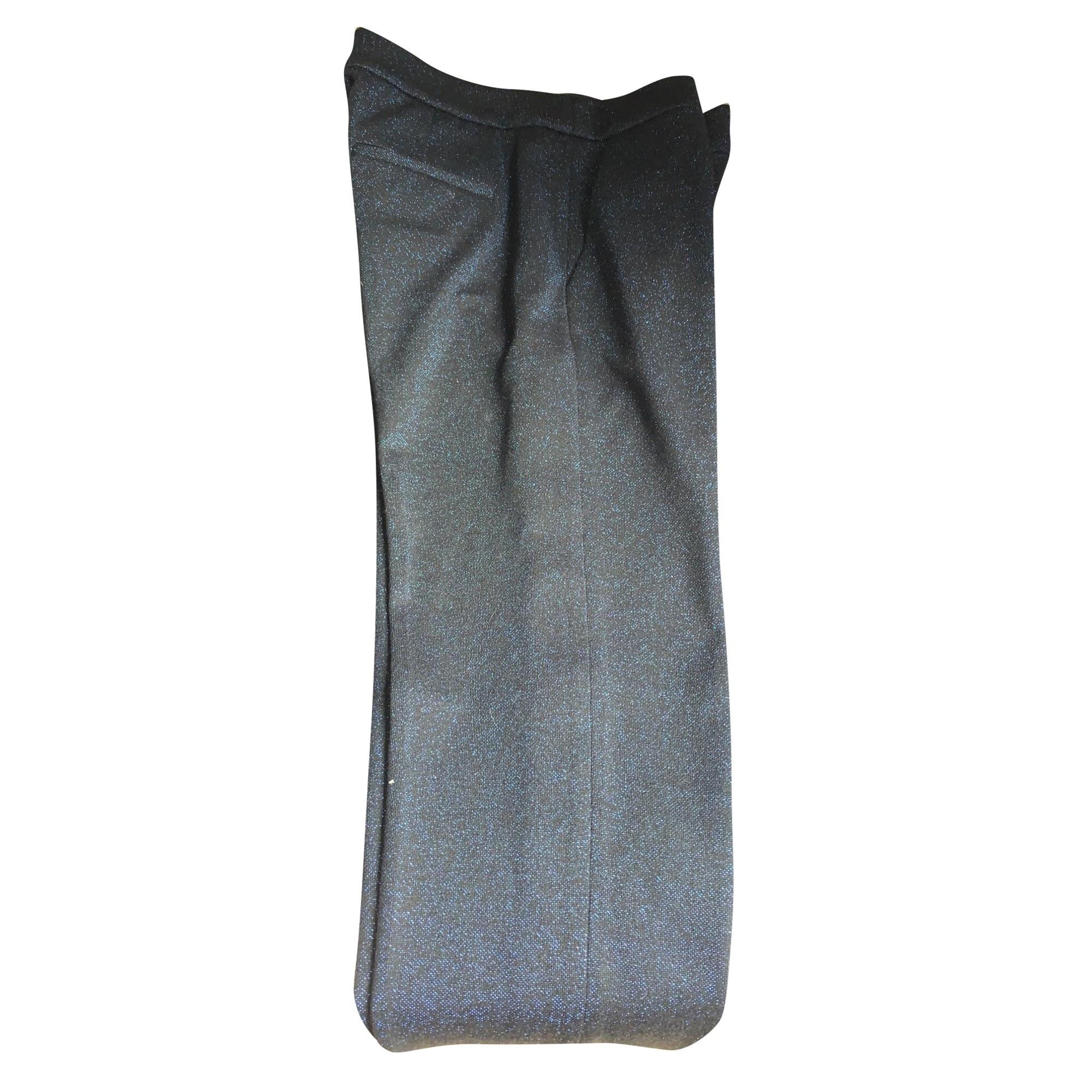Tailleur pantalon CLAUDIE PIERLOT Bleu, bleu marine, bleu turquoise