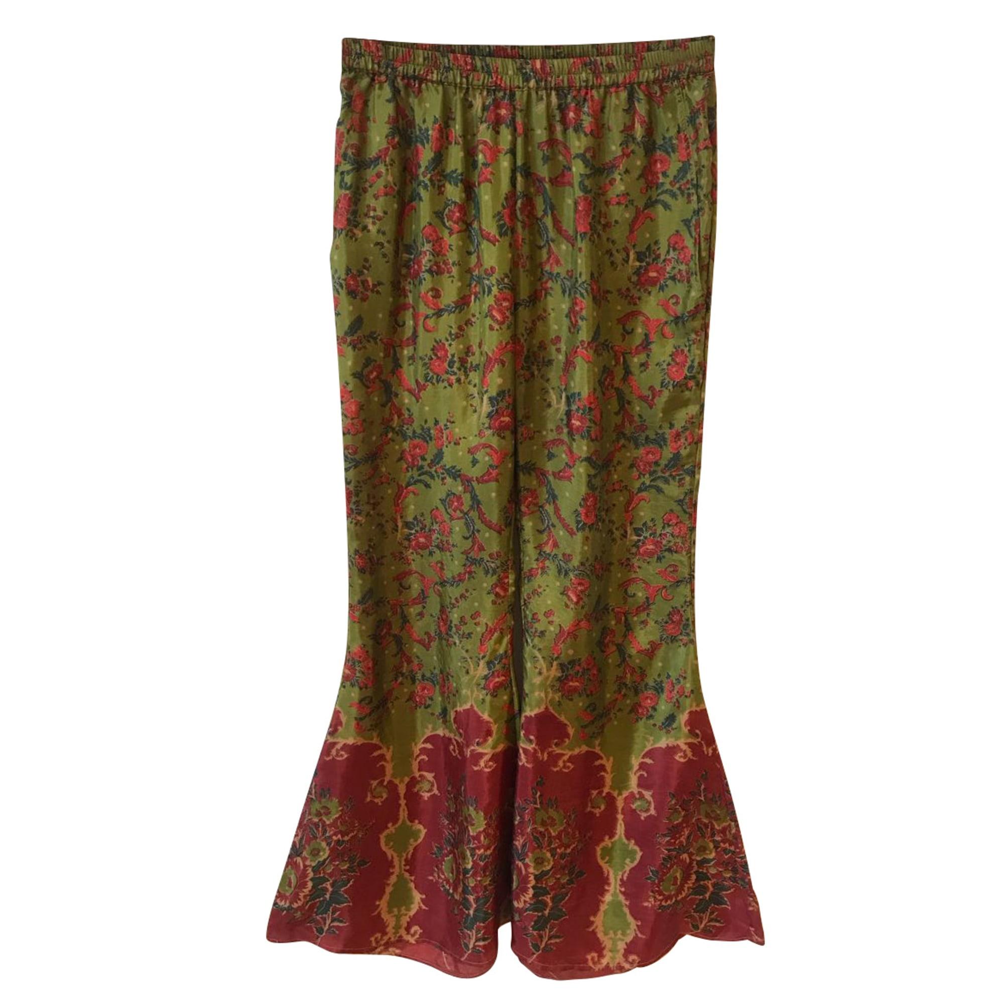 Pantalon droit MES DEMOISELLES... Vert