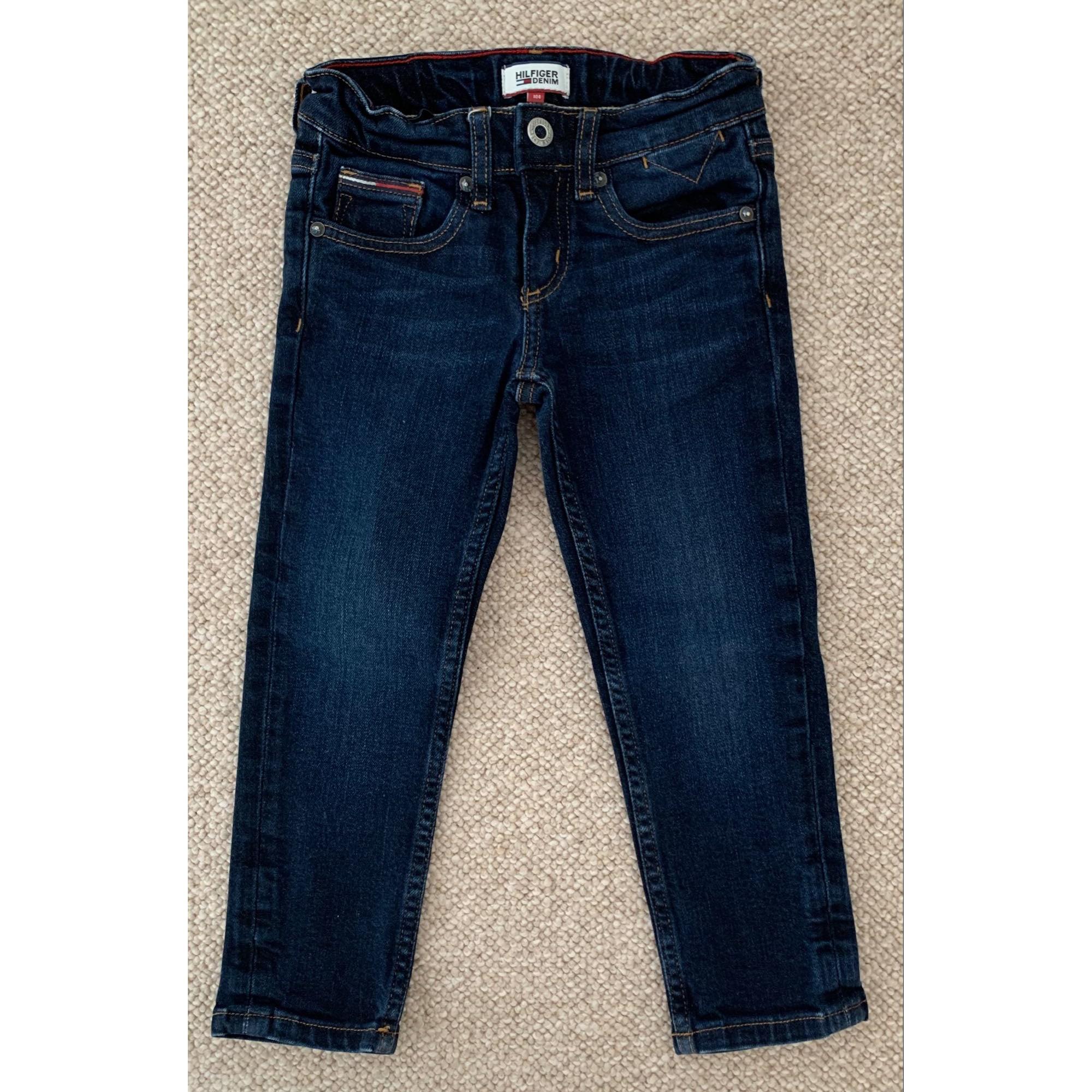Jeans droit TOMMY HILFIGER Bleu, bleu marine, bleu turquoise