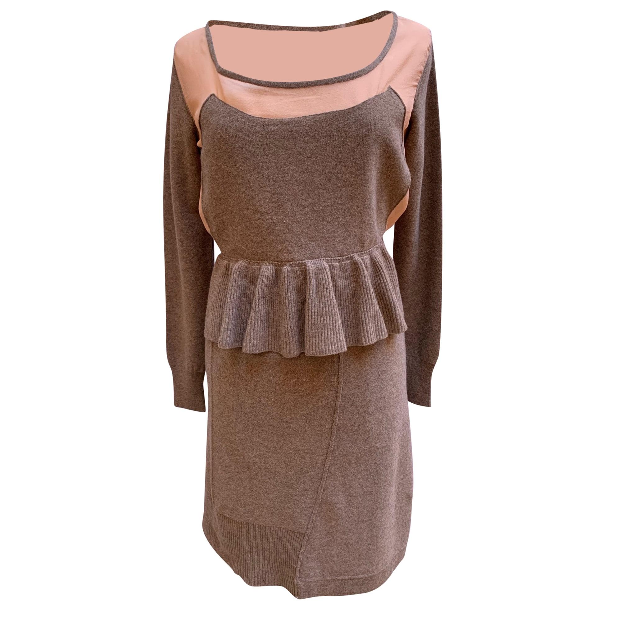Robe courte SONIA RYKIEL Beige, camel
