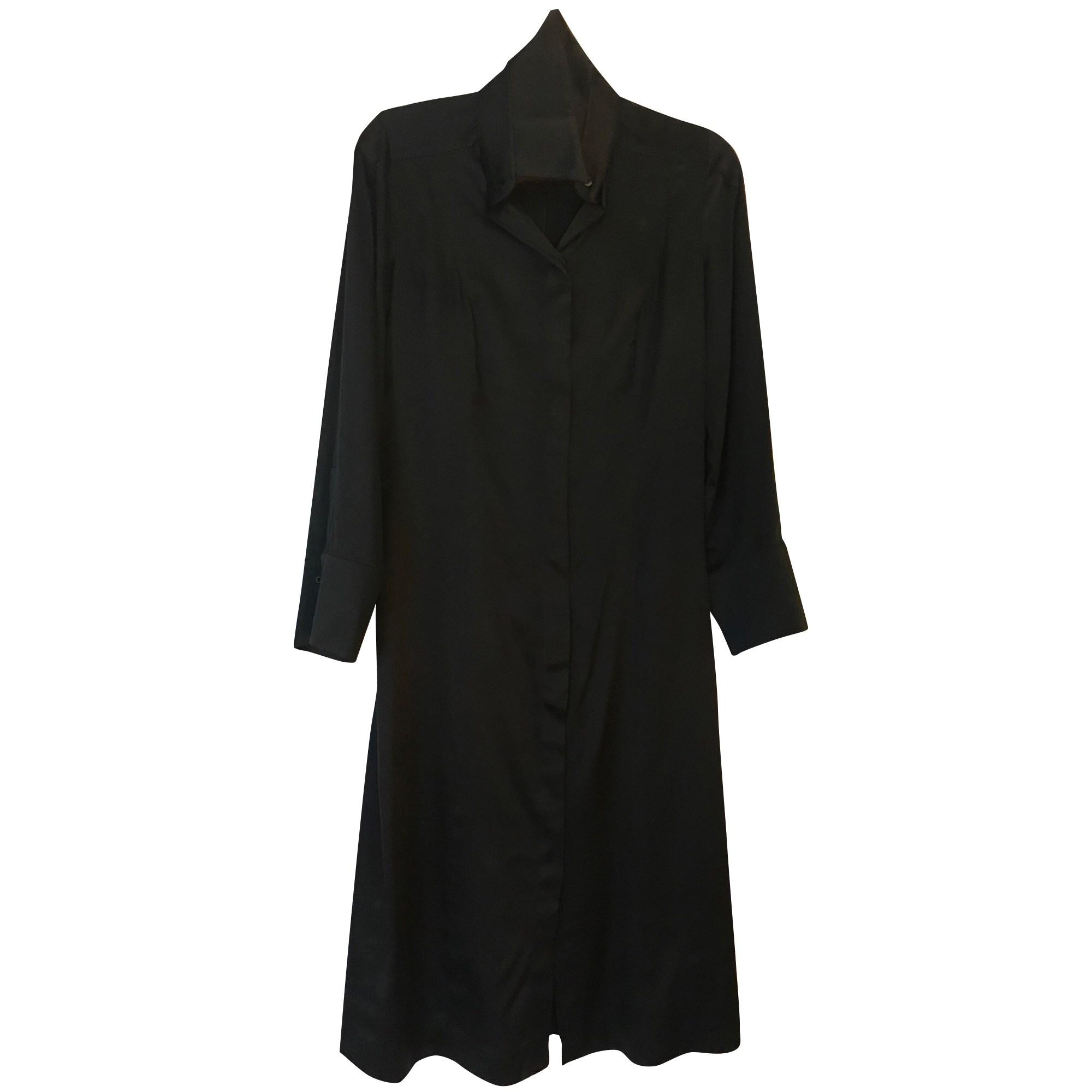 Robe mi-longue PACO RABANNE Noir