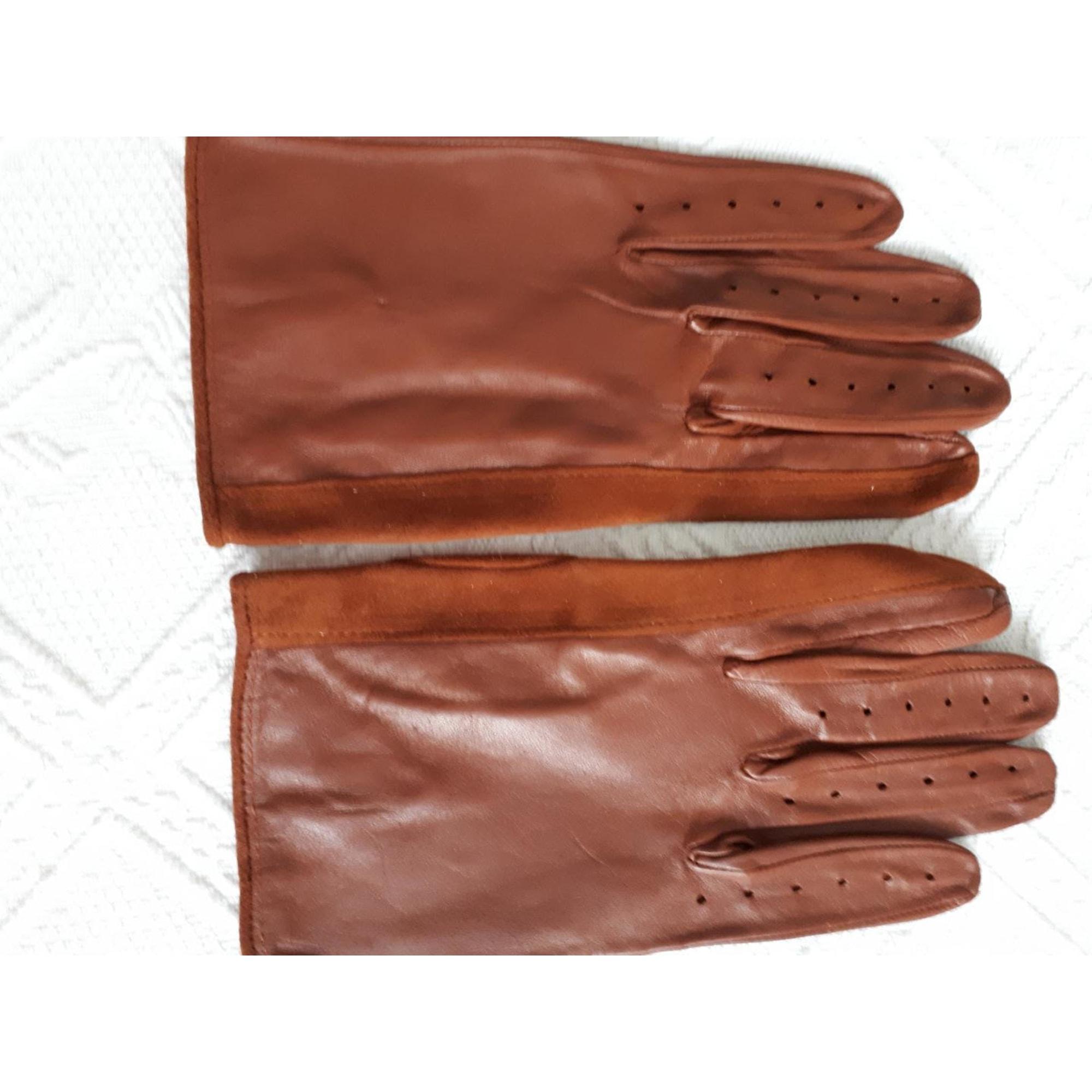 Handschuhe MARQUE INCONNUE Braun