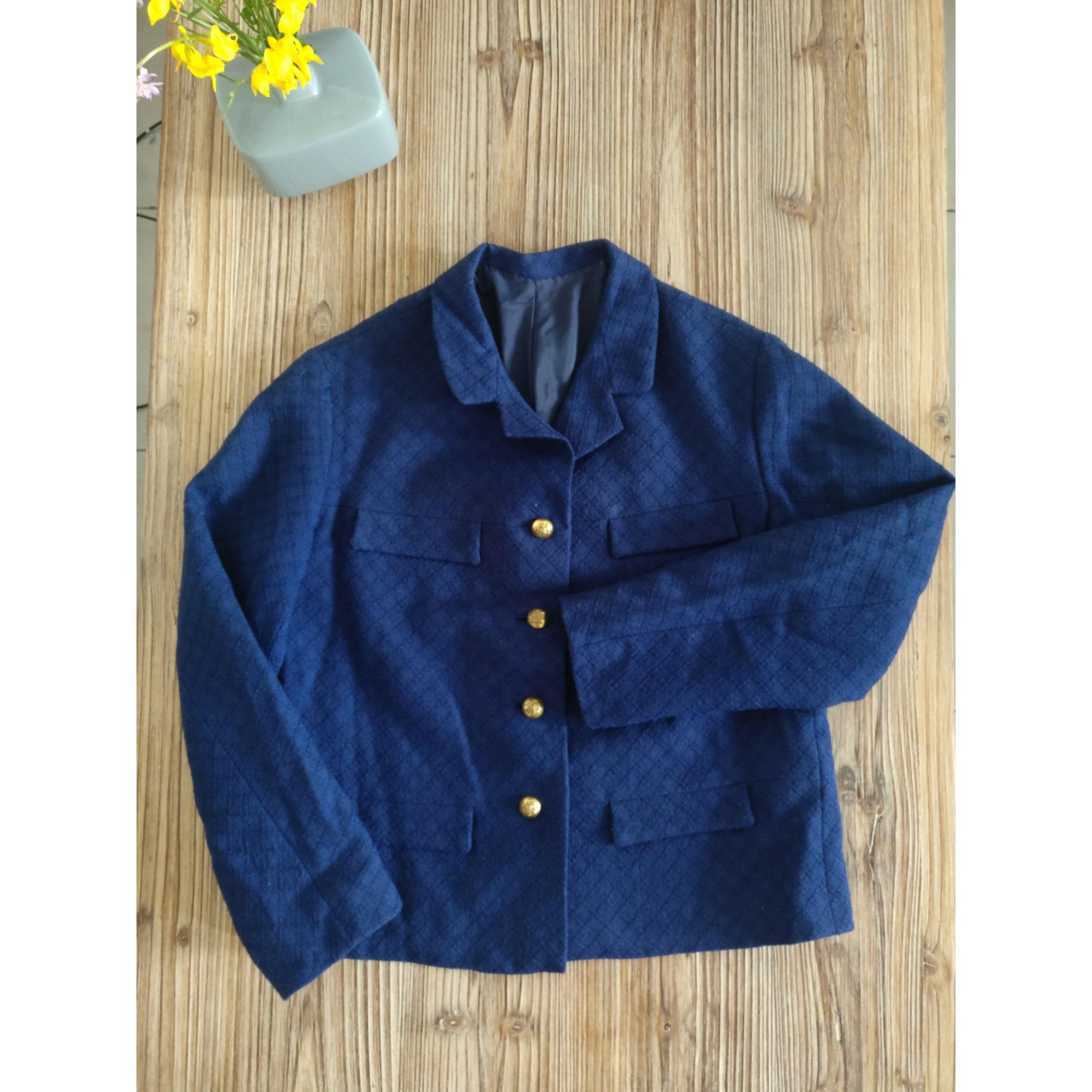 Veste VINTAGE Bleu, bleu marine, bleu turquoise