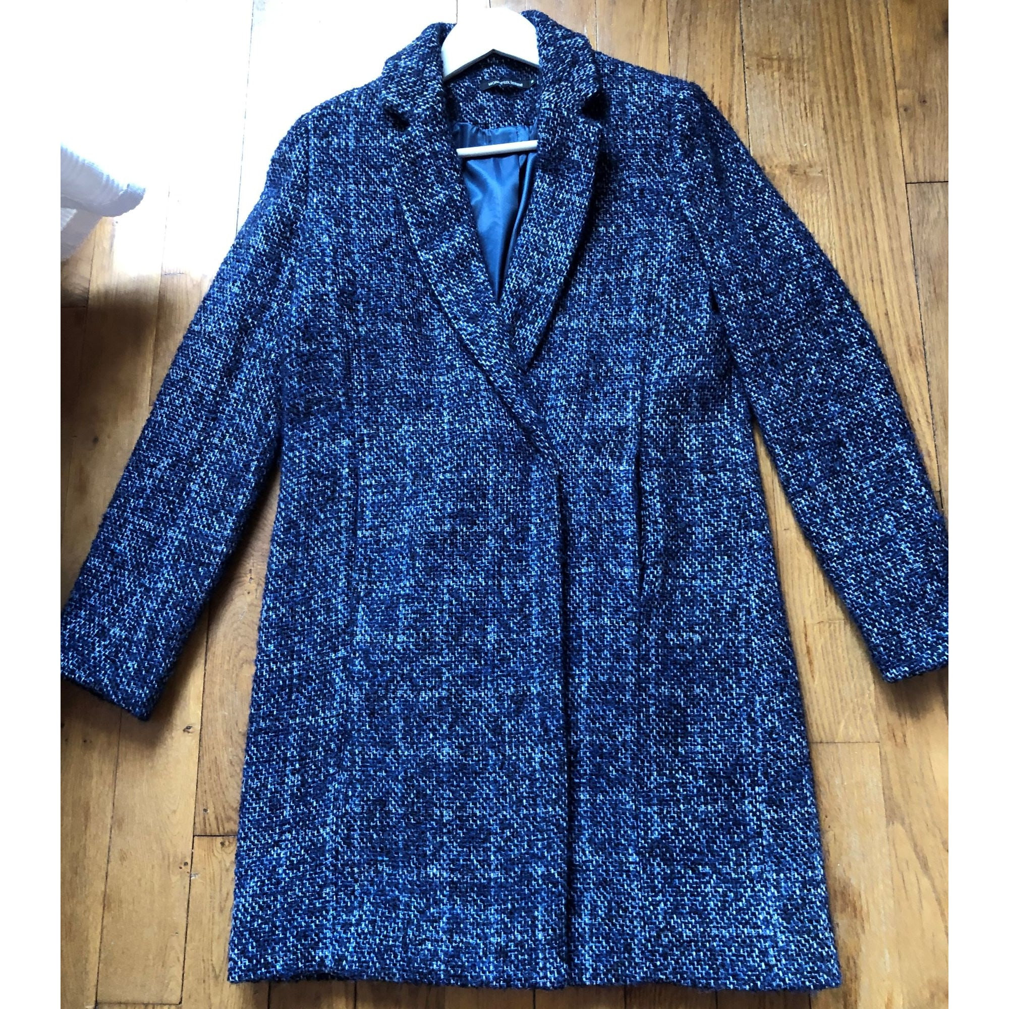 Manteau MONOPRIX Bleu, bleu marine, bleu turquoise