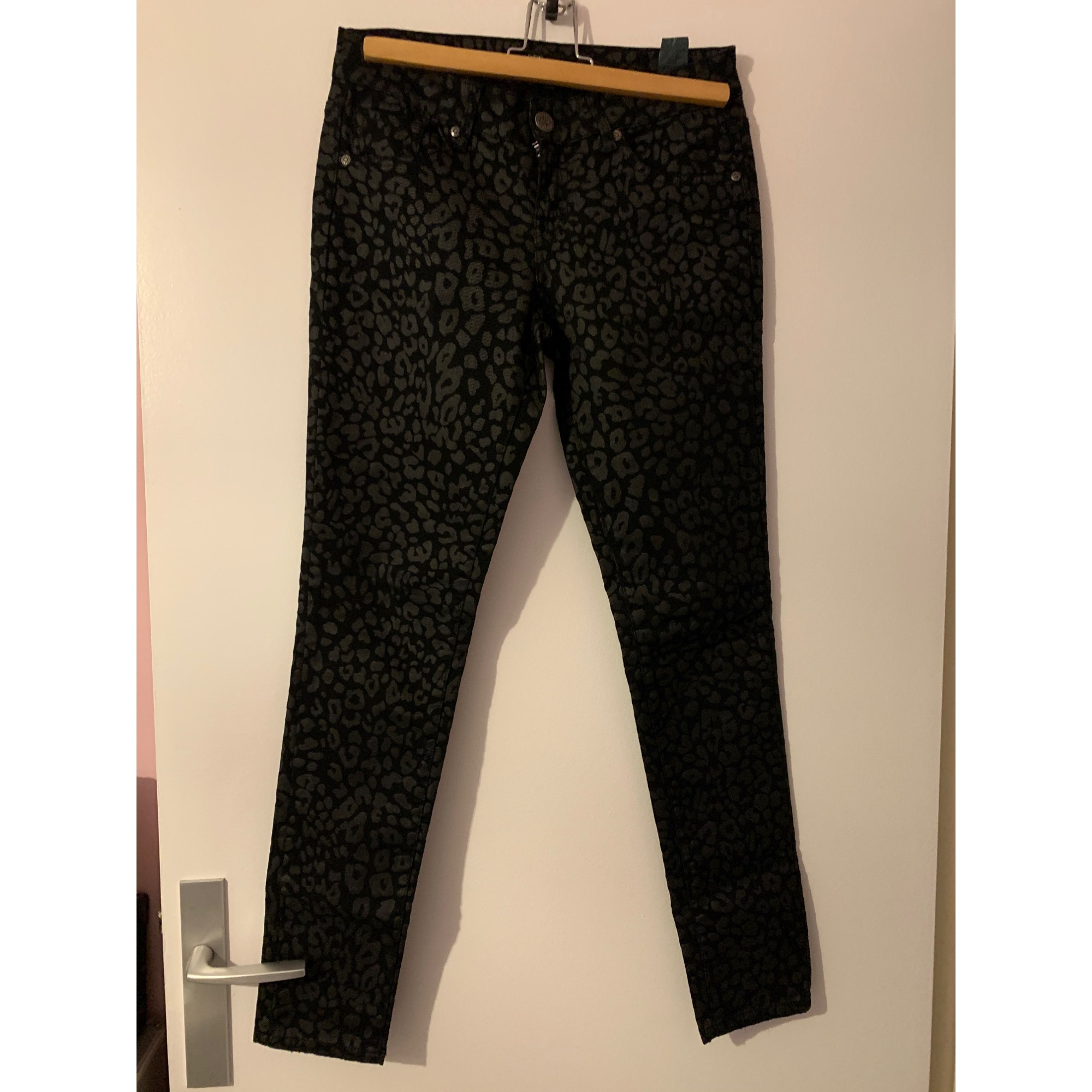 Pantalon slim, cigarette CIMARRON Imprimés animaliers