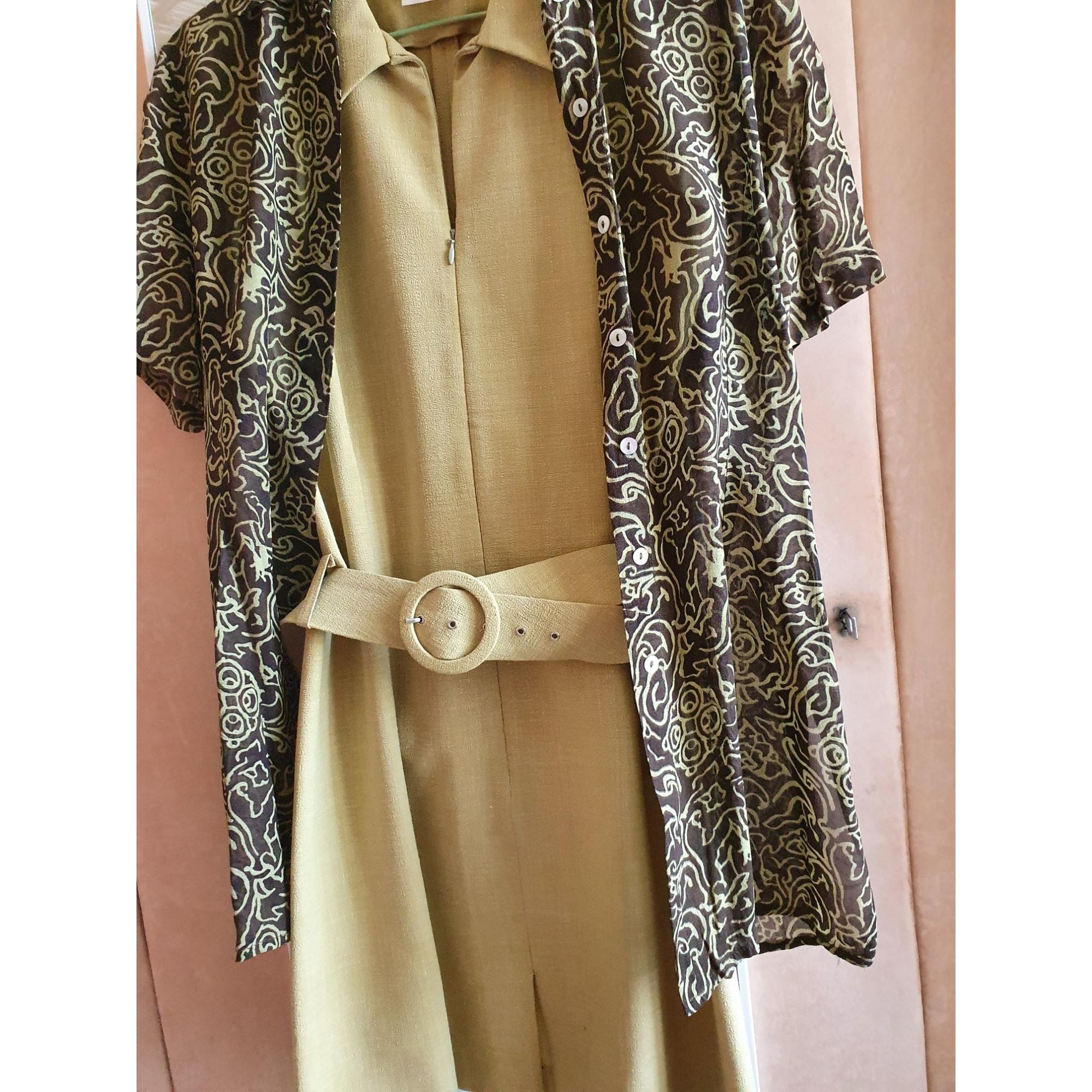 Robe courte CAROLL Vert