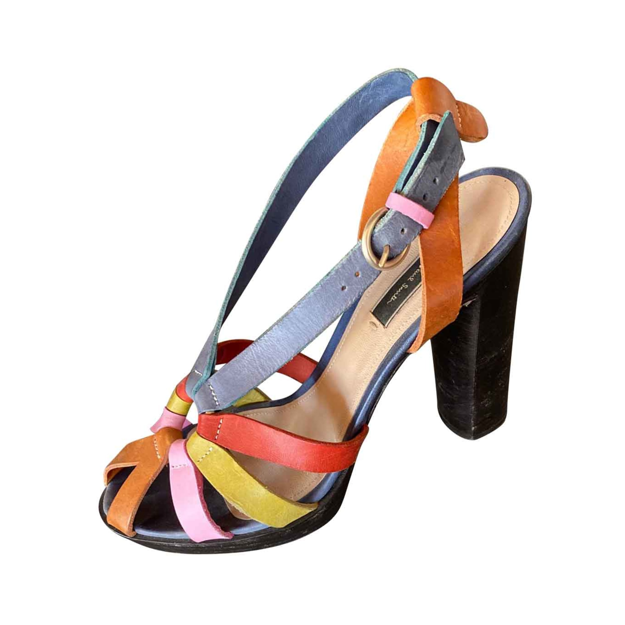 Sandales à talons PAUL SMITH Multicouleur