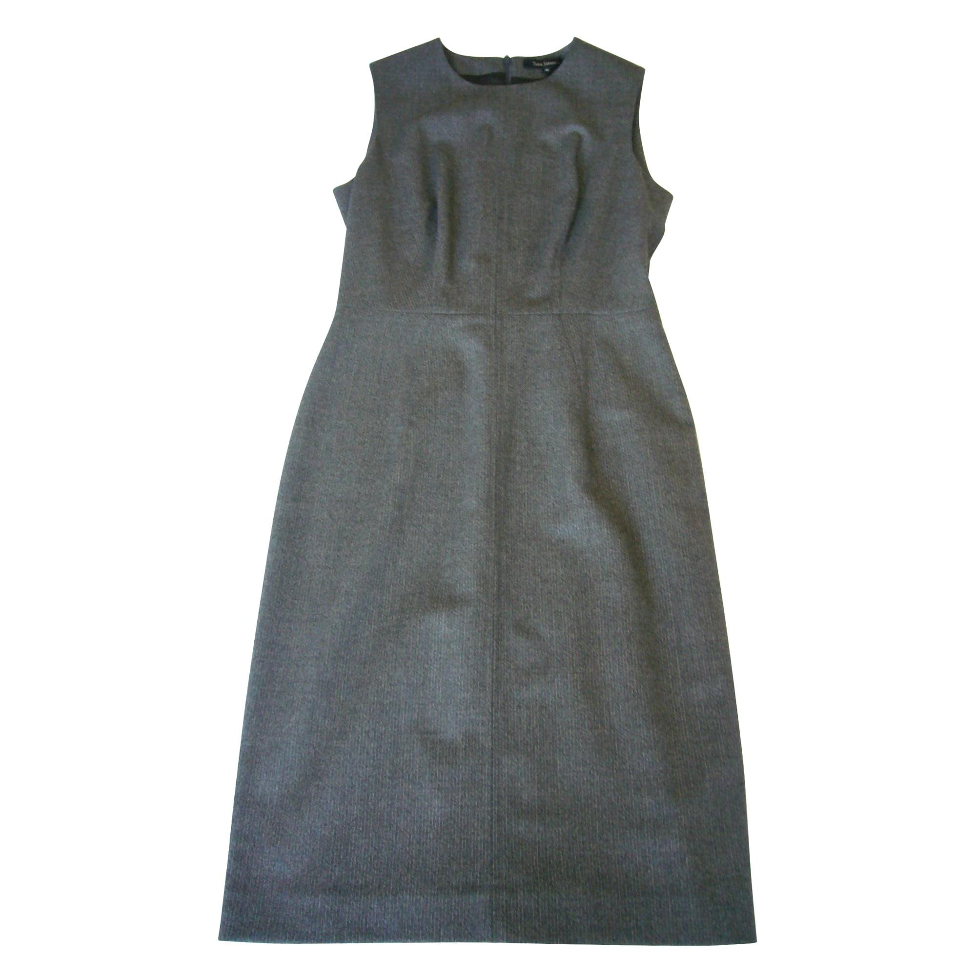 Robe mi-longue TARA JARMON Gris, anthracite