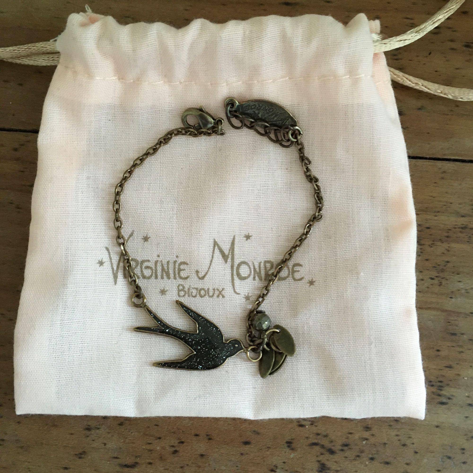Bracelet VIRGINIE MONROE Noir