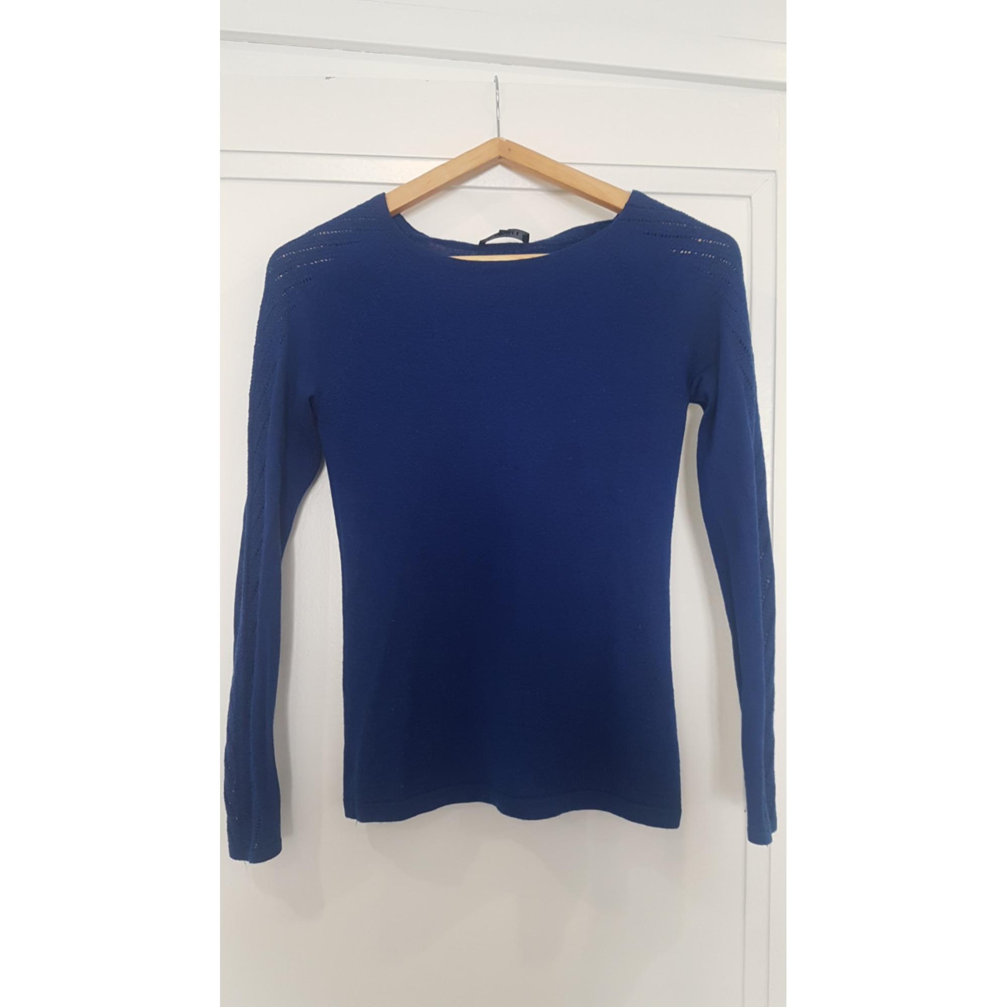 Pull CAROLL Bleu, bleu marine, bleu turquoise