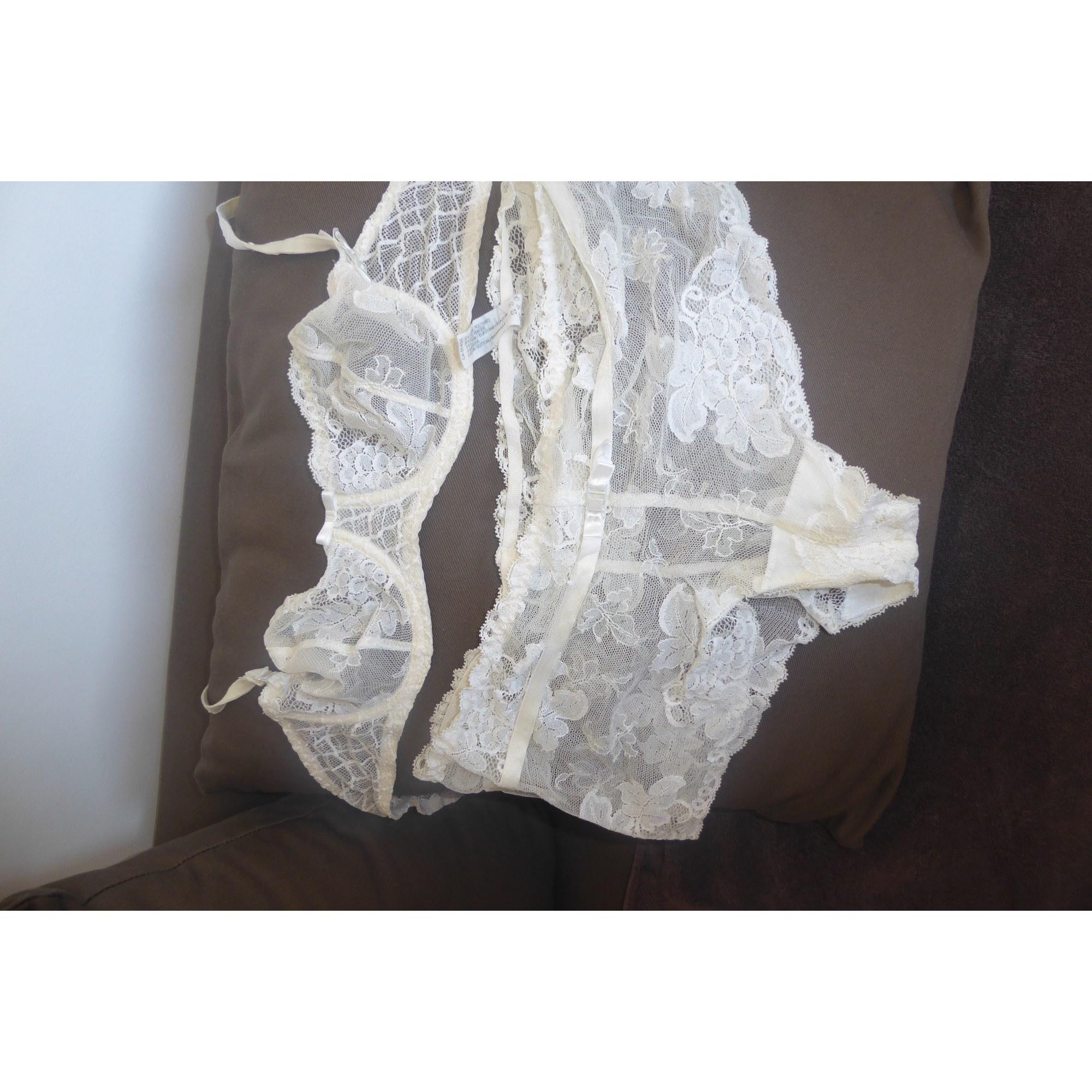Ensemble, parure lingerie AUBADE Blanc, blanc cassé, écru