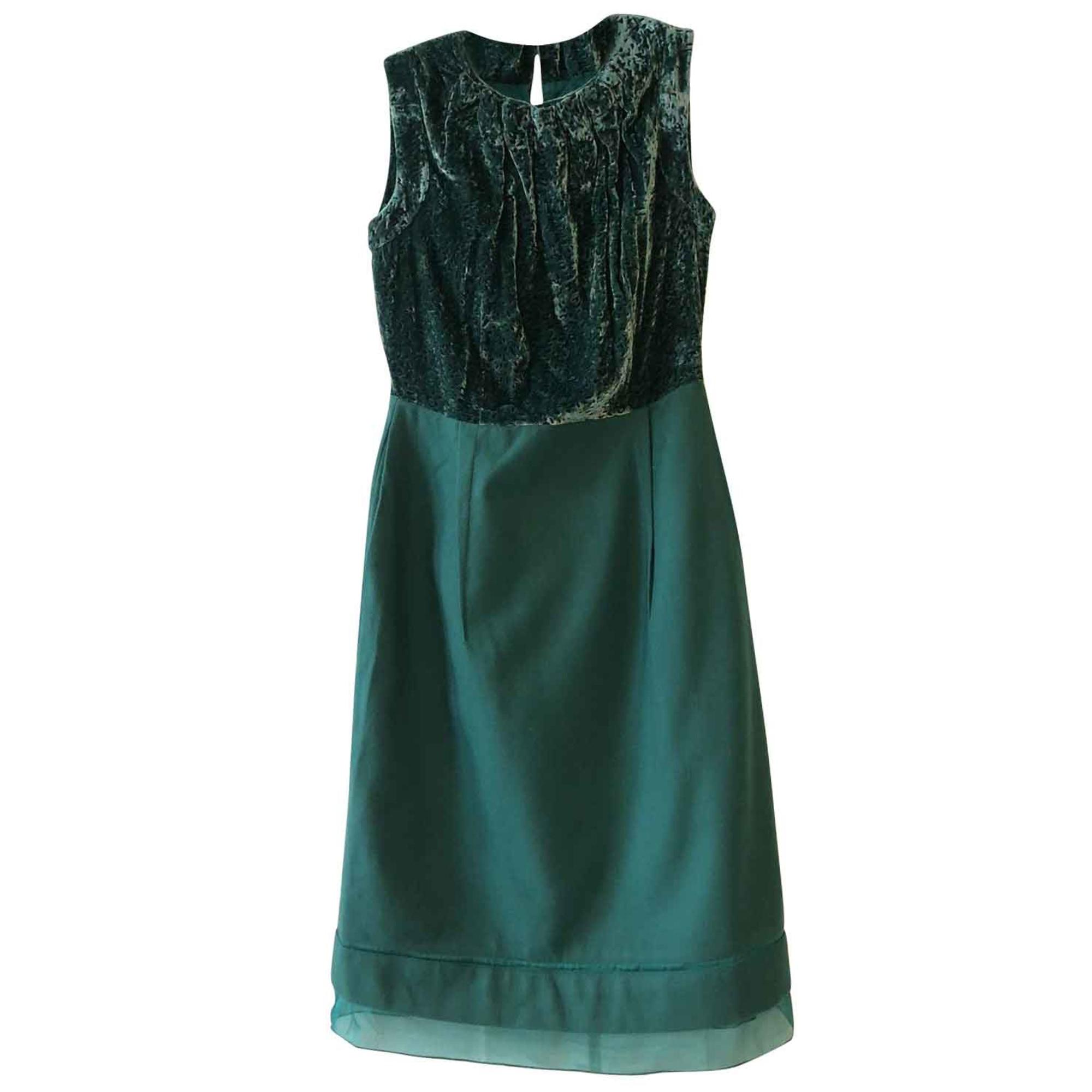 Robe mi-longue PRINGLE OF SCOTLAND Vert