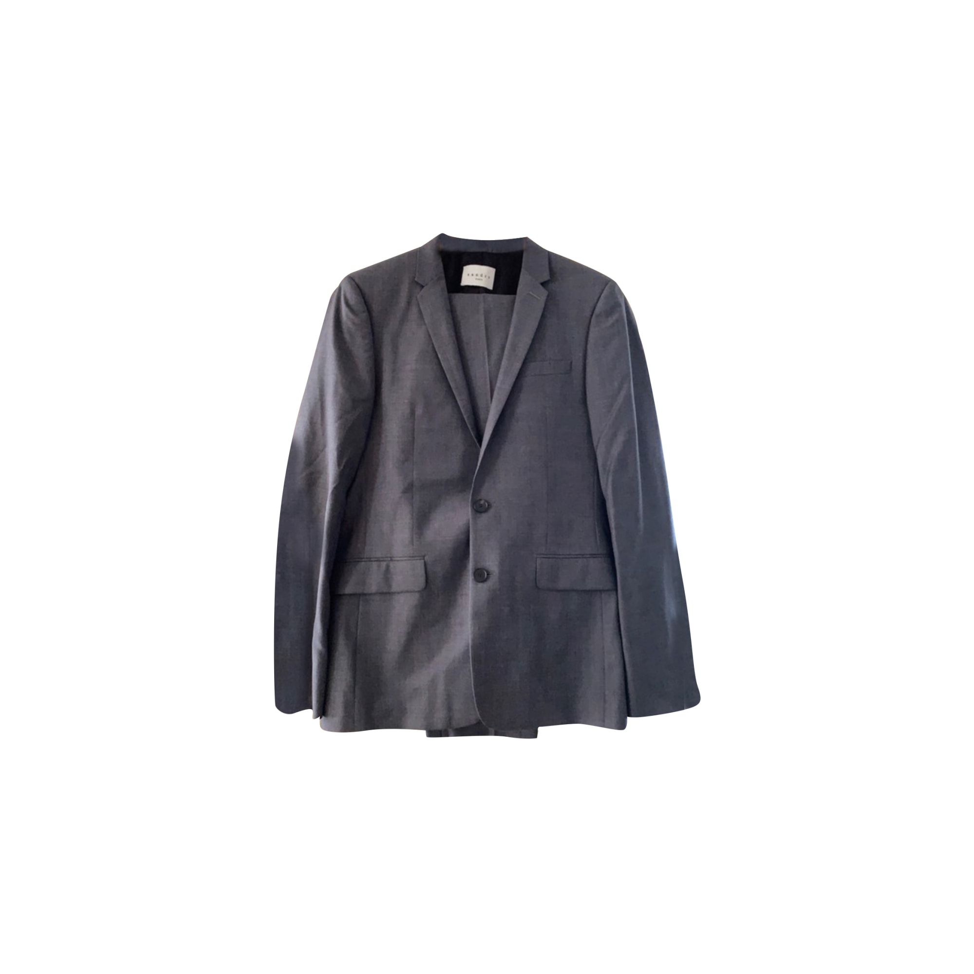 Costume complet SANDRO Gris, anthracite