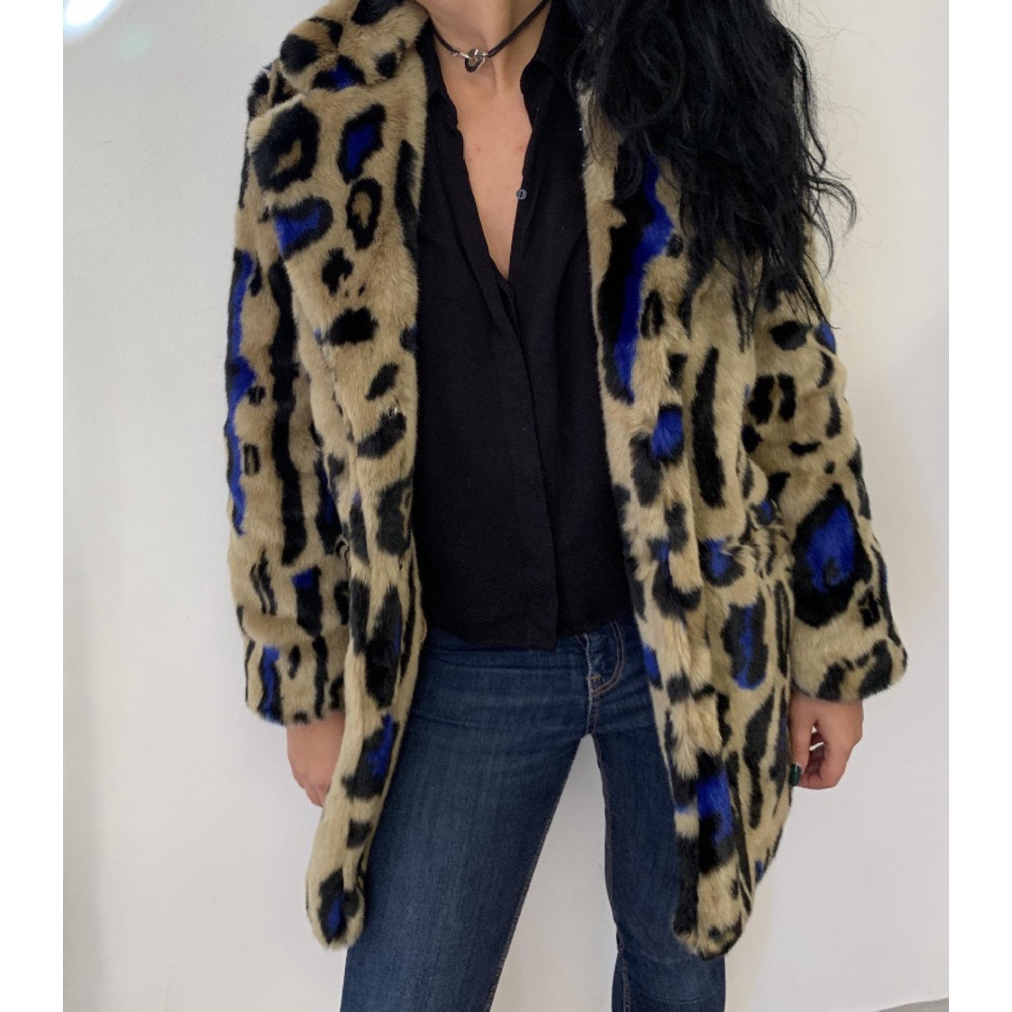 Manteau en fourrure MAISON R&C Imprimés animaliers