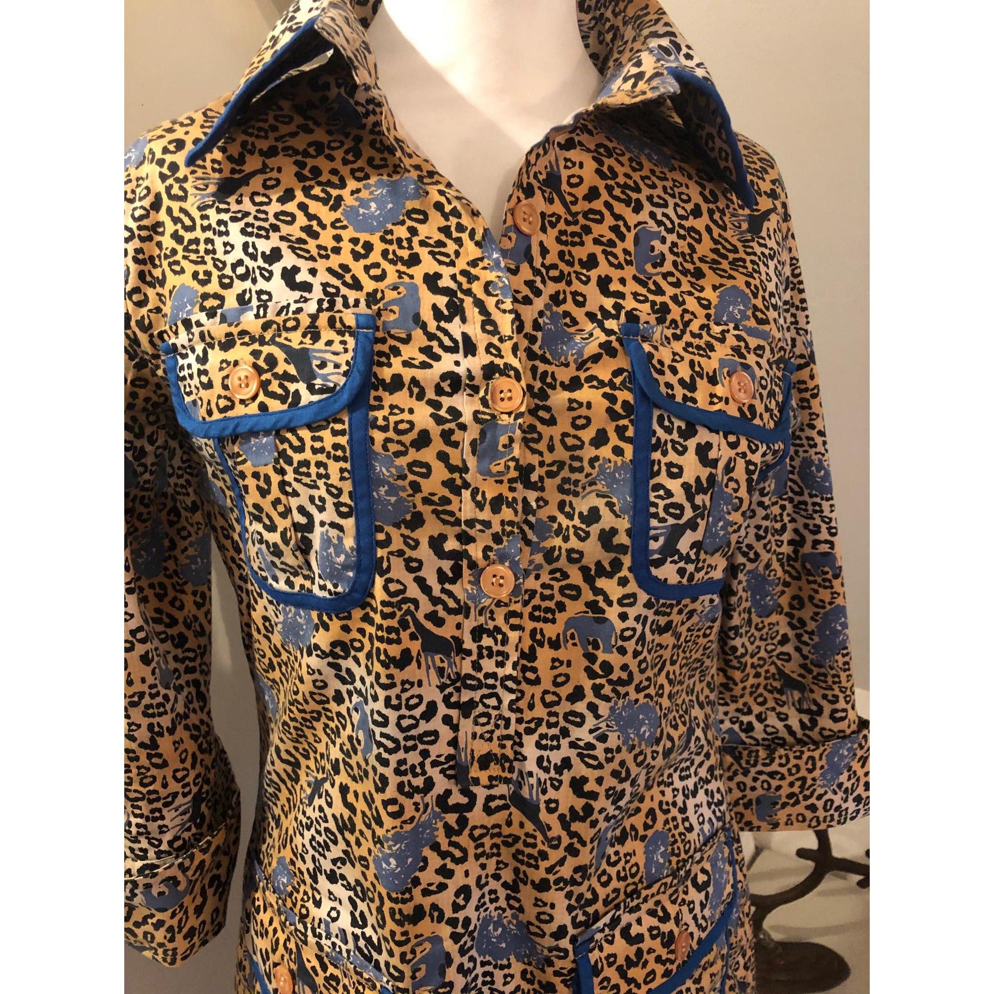 Robe courte ALMATRICHI Imprimés animaliers
