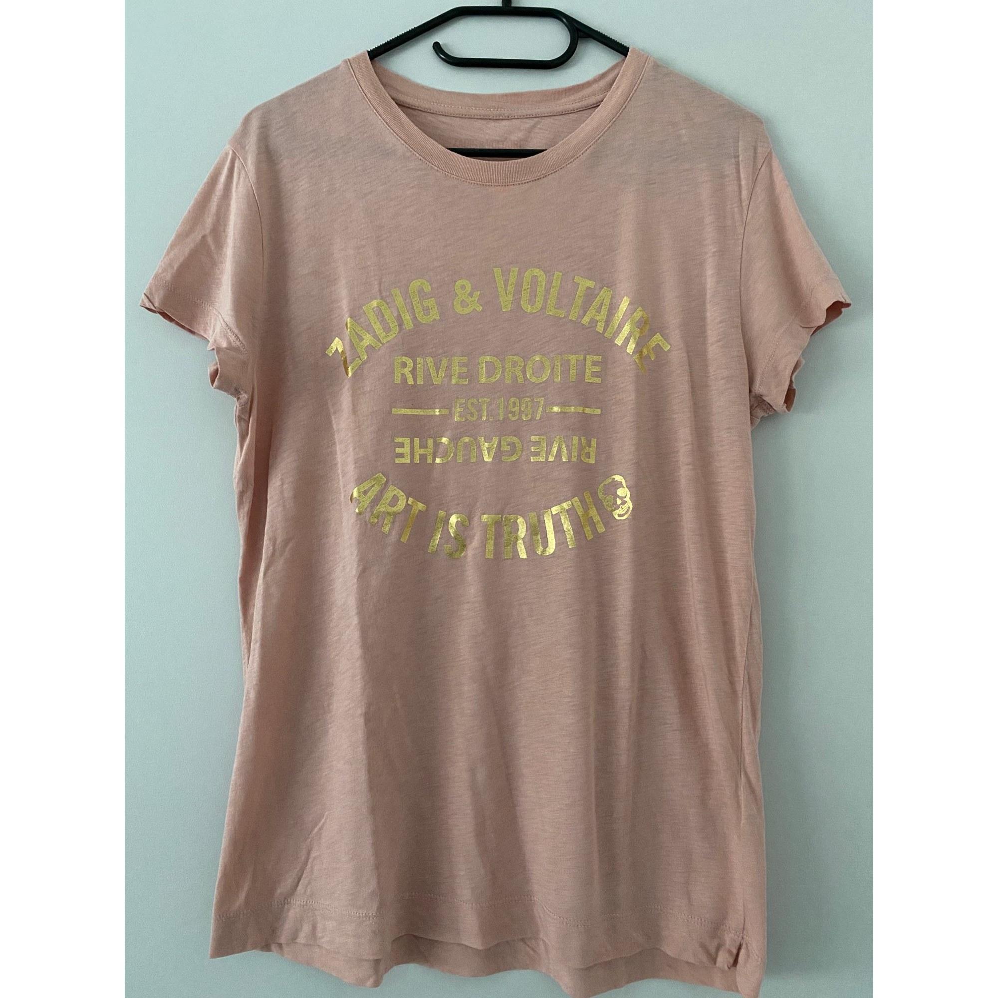 Top, tee-shirt ZADIG & VOLTAIRE Rose, fuschia, vieux rose