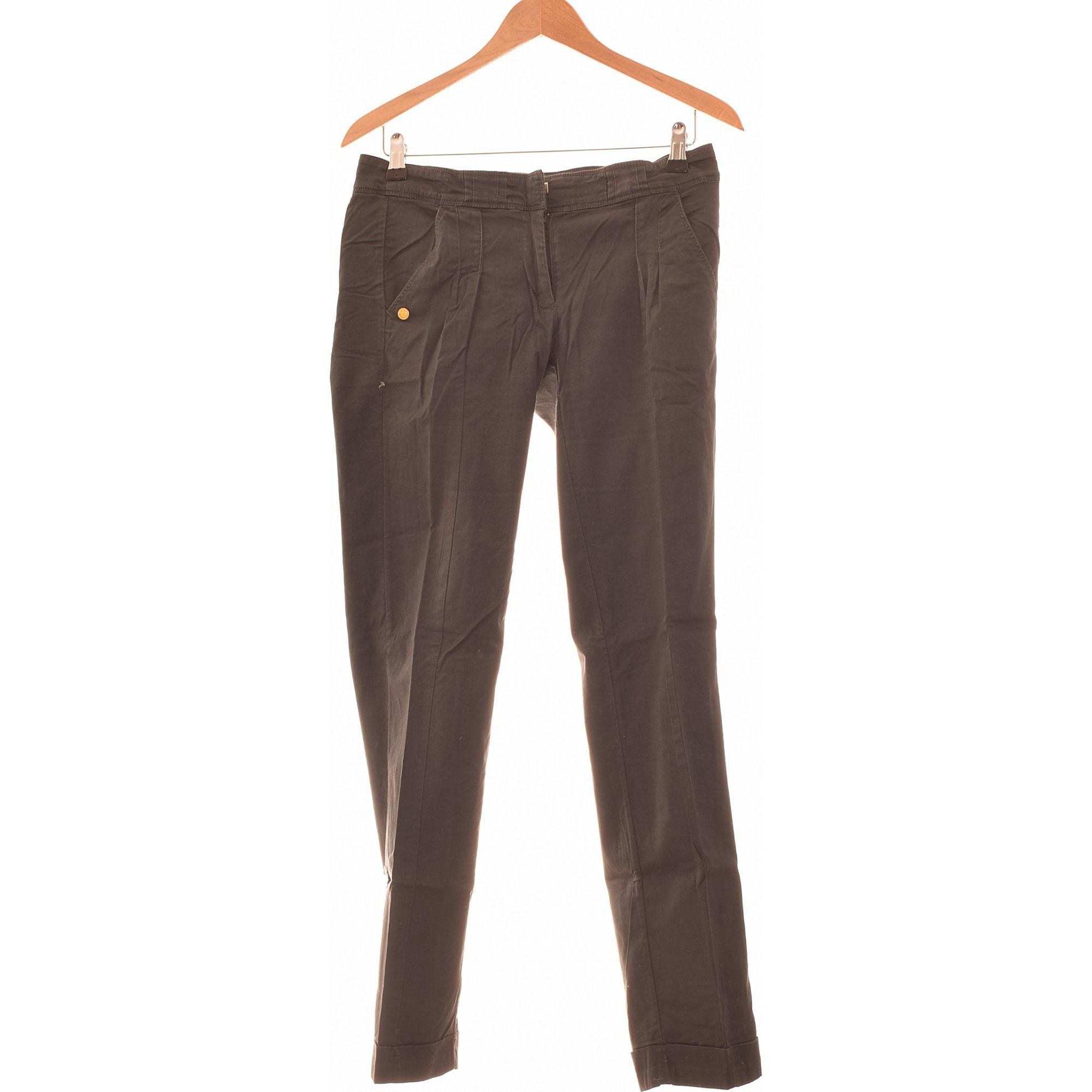 Pantalon droit ADIDAS Gris, anthracite