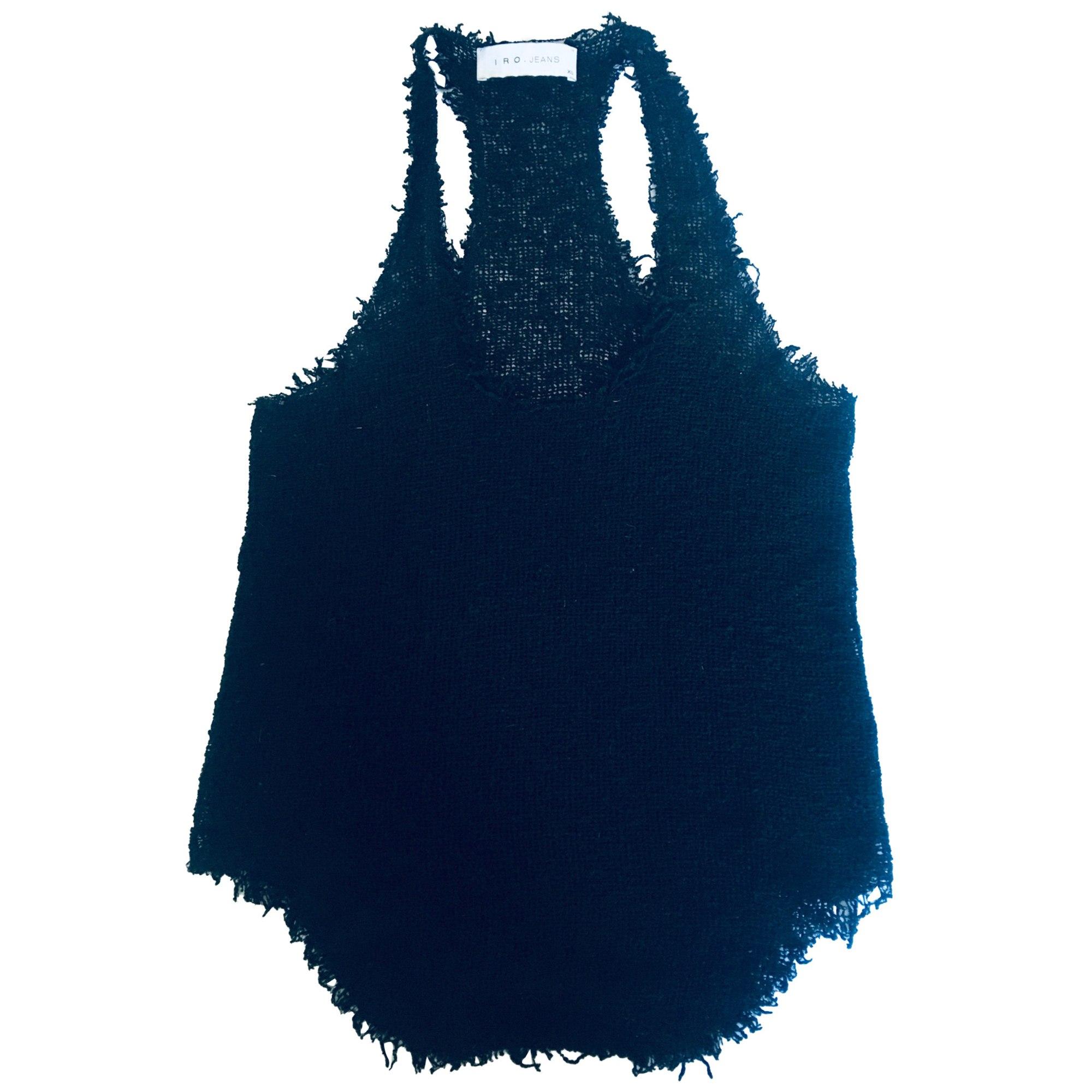 Top, tee-shirt IRO Noir