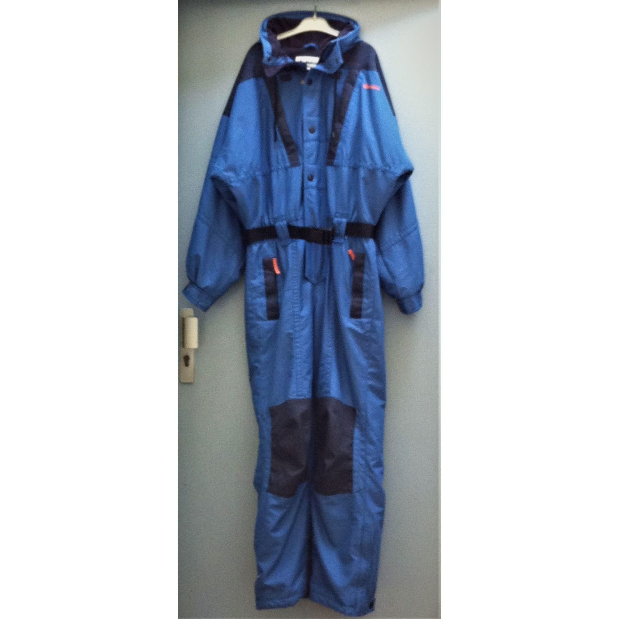 Combinaison de ski WANNABEE Bleu, bleu marine, bleu turquoise