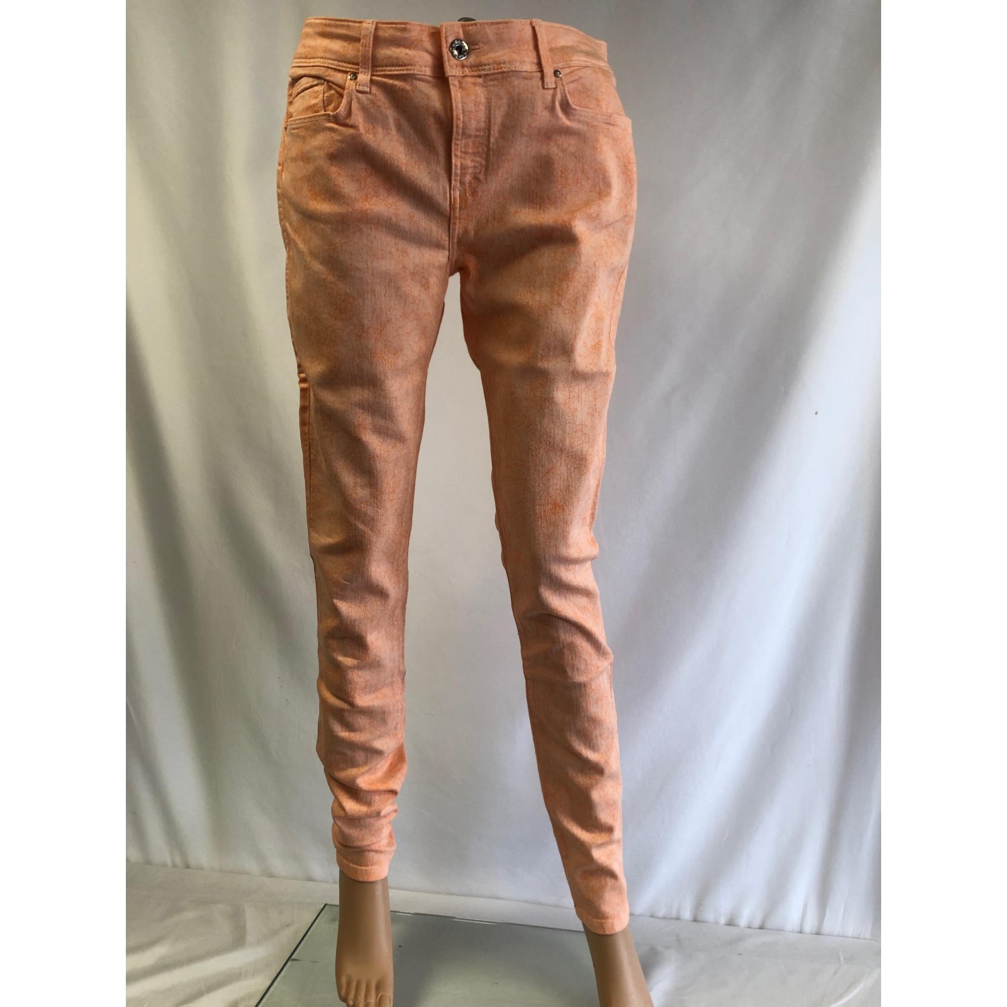 Jeans slim SALSA Orange