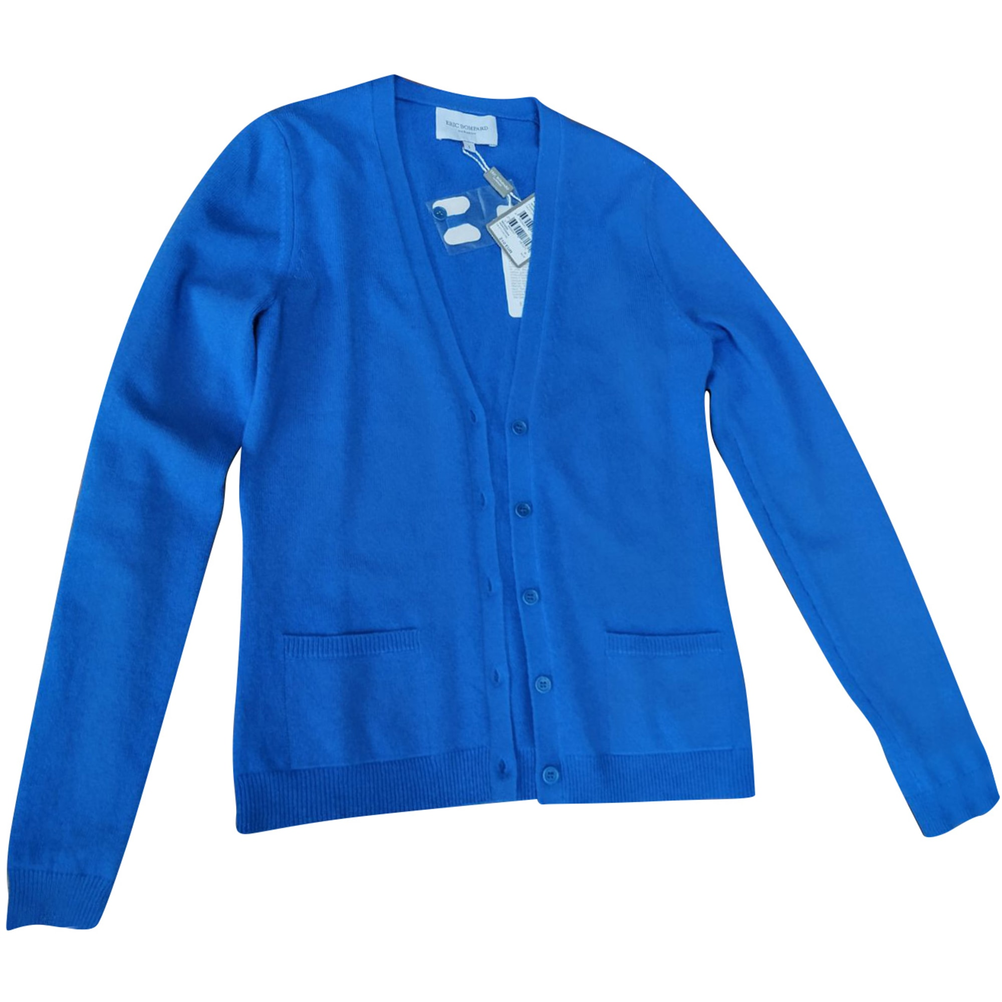 Gilet, cardigan ERIC BOMPARD Bleu, bleu marine, bleu turquoise