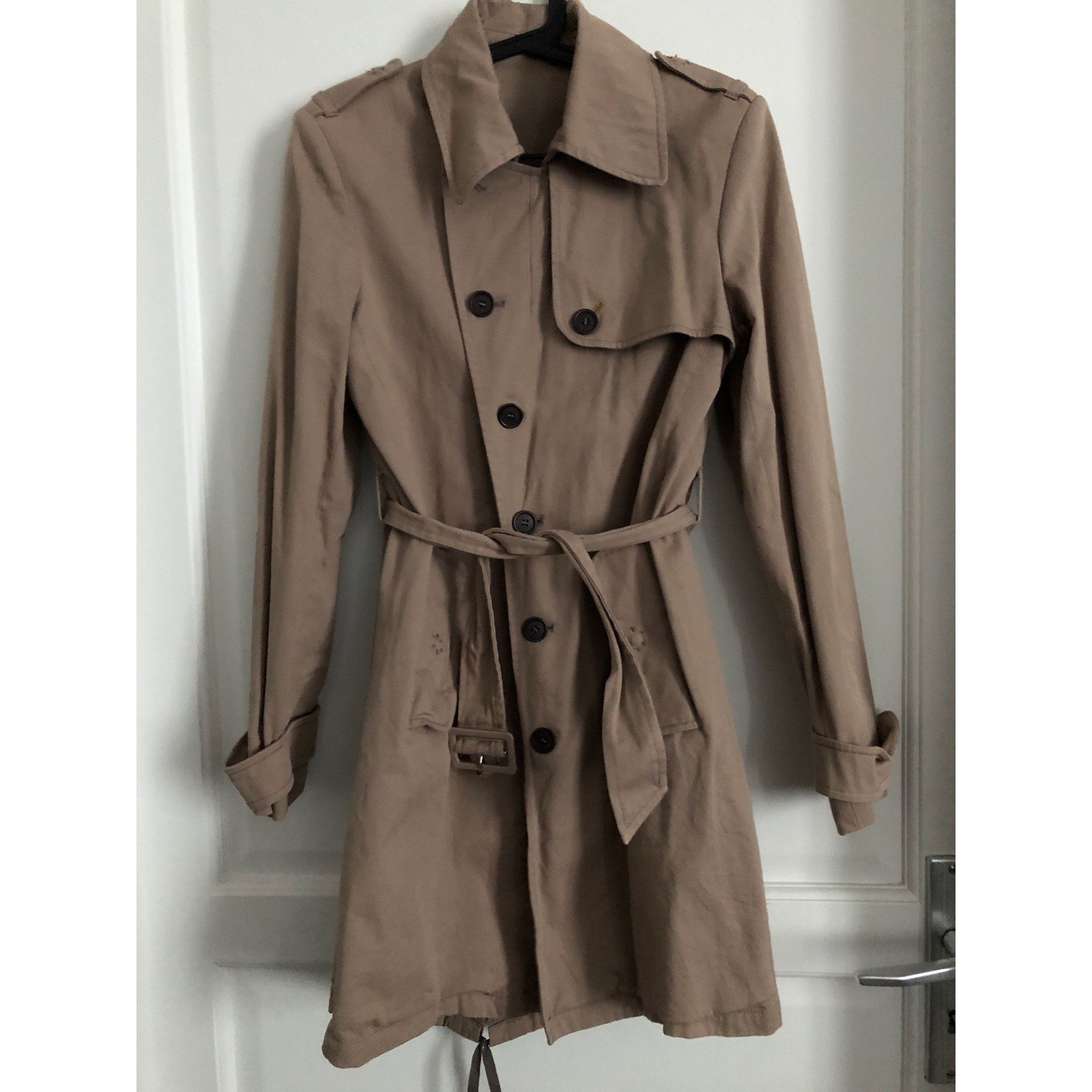 Imperméable, trench CHEMINS BLANCS Beige, camel