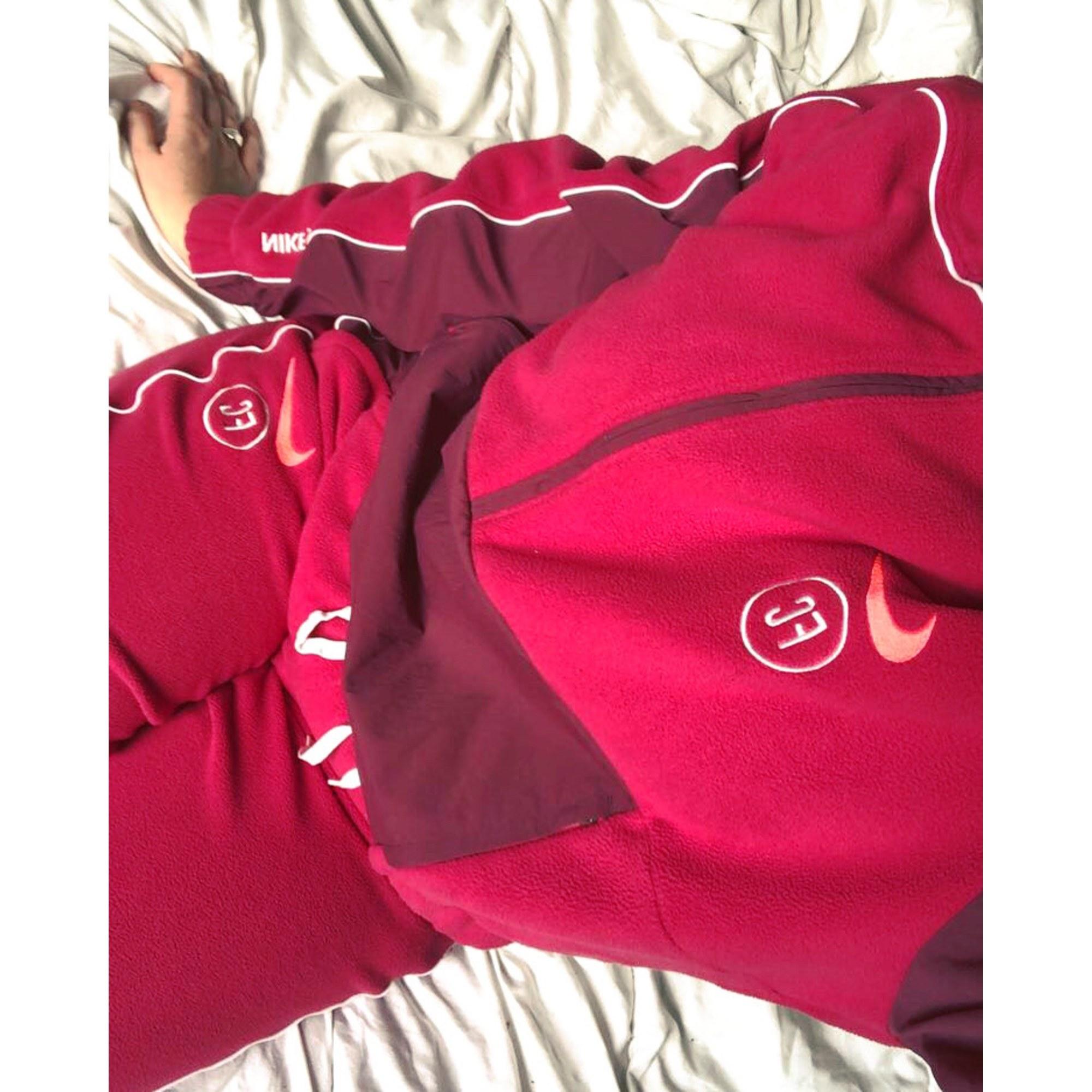 Ensemble jogging NIKE Rouge, bordeaux