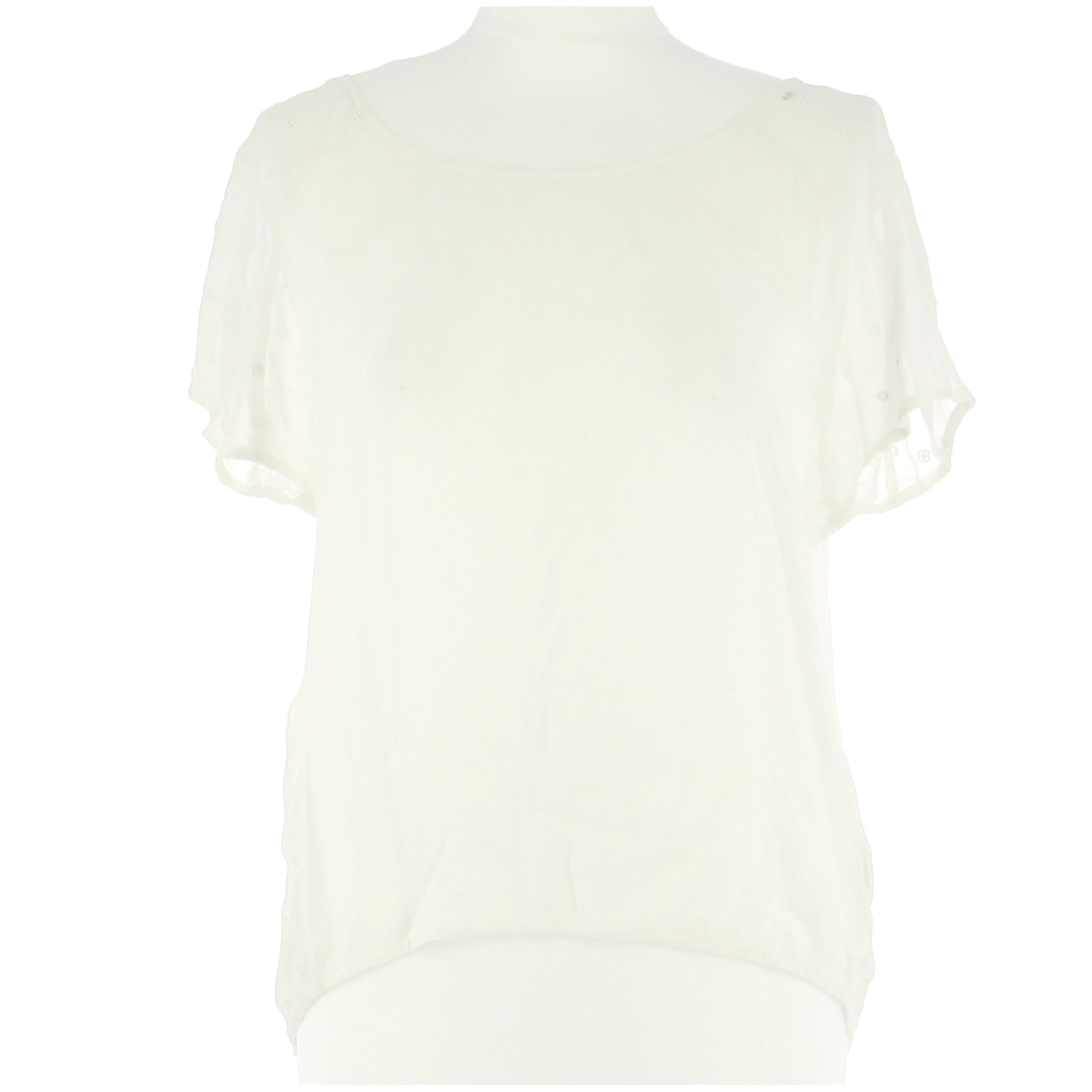 Top, tee-shirt I. CODE Blanc, blanc cassé, écru