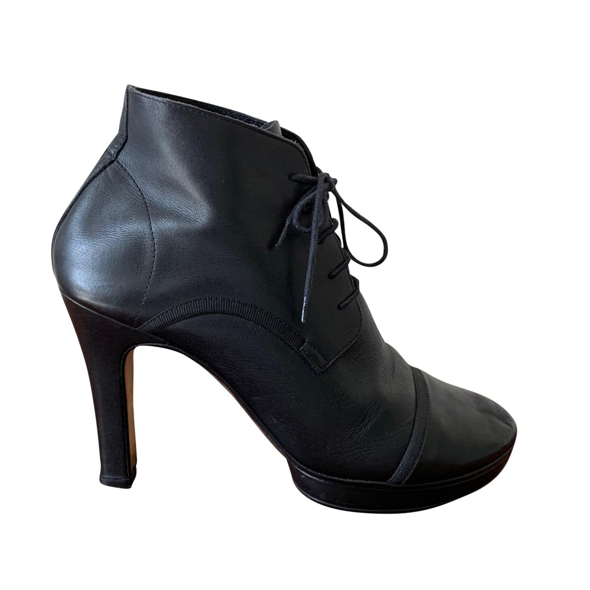 Bottines & low boots à talons REPETTO Noir