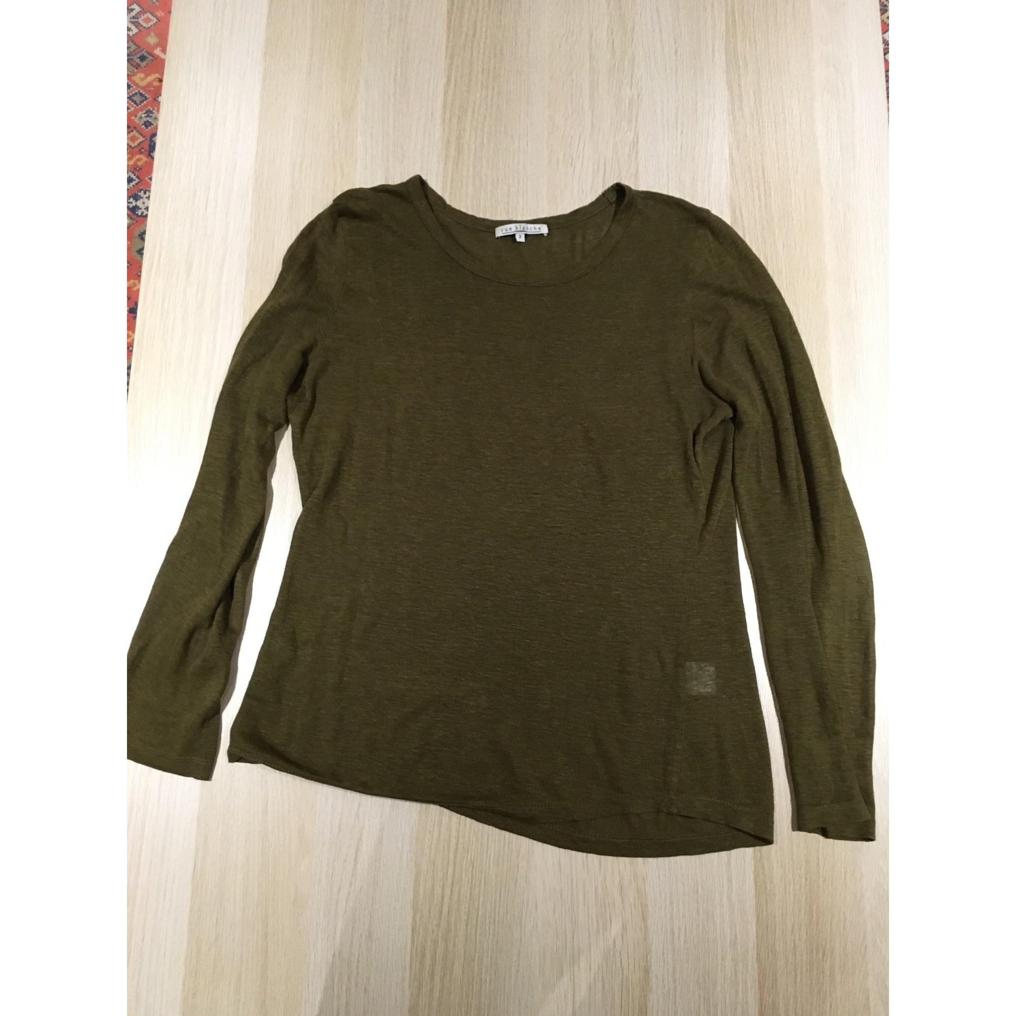 Top, tee-shirt RUE BLANCHE Kaki
