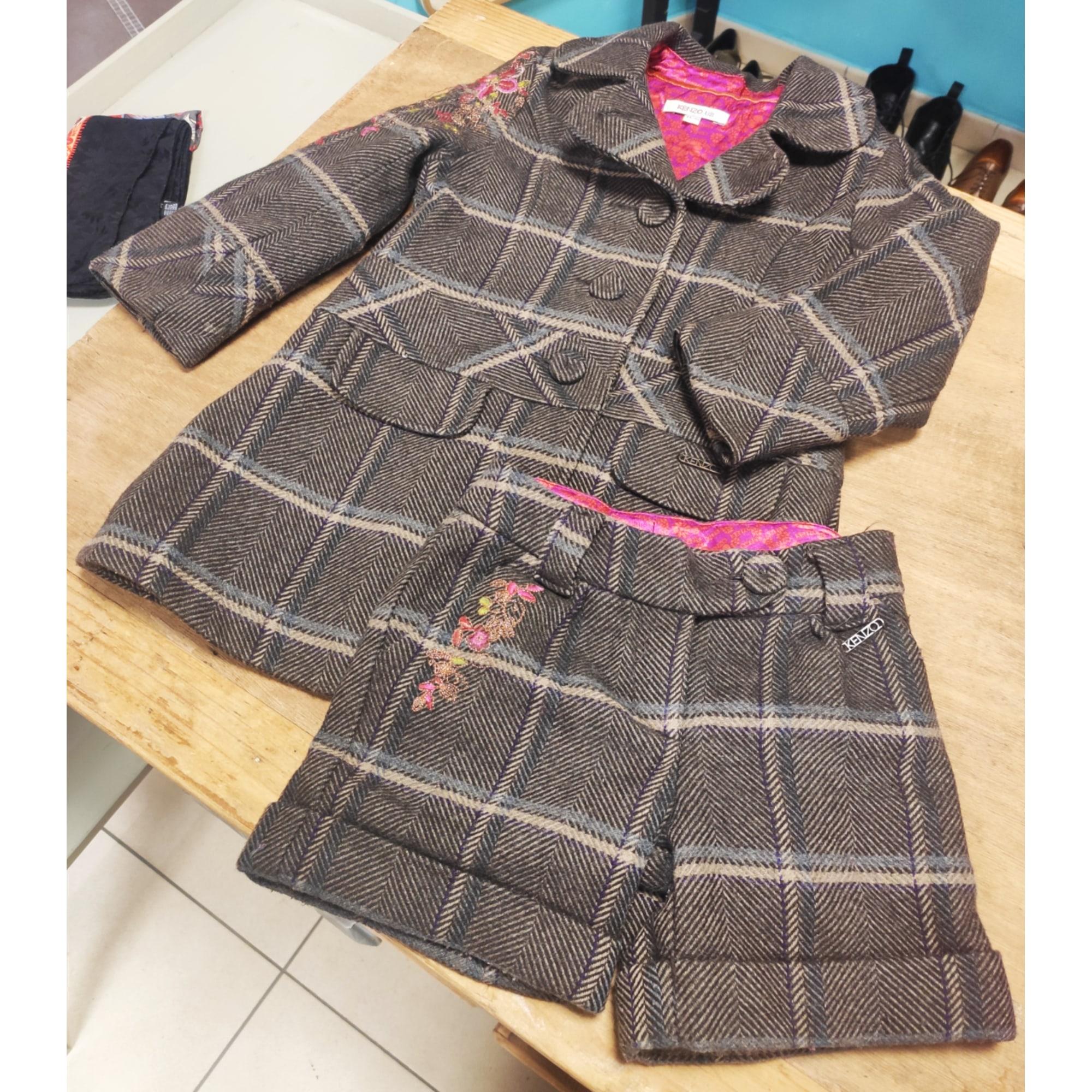 Anzug, Set für Kinder, kurz KENZO Braun
