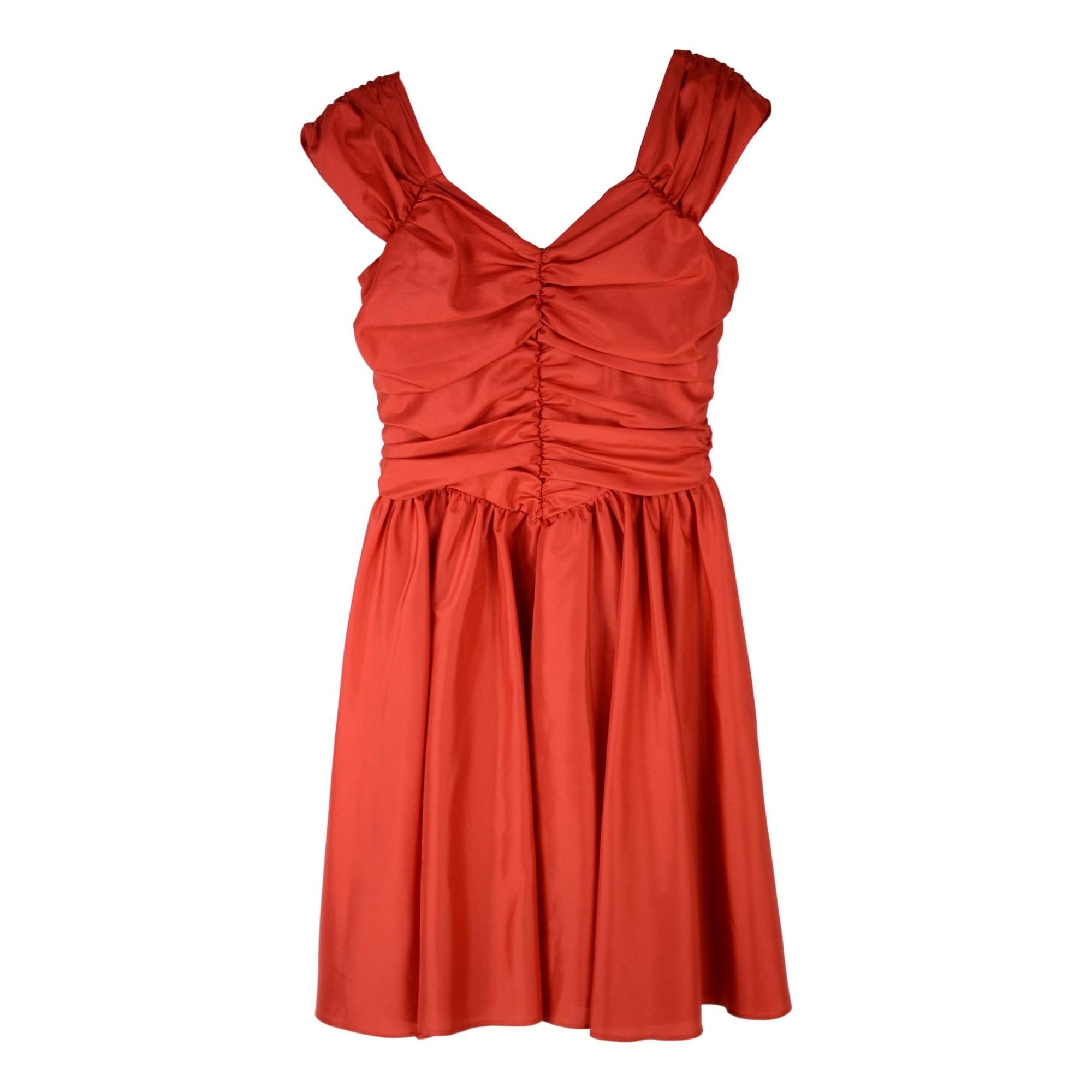 Robe mi-longue VERA MONT Rouge, bordeaux