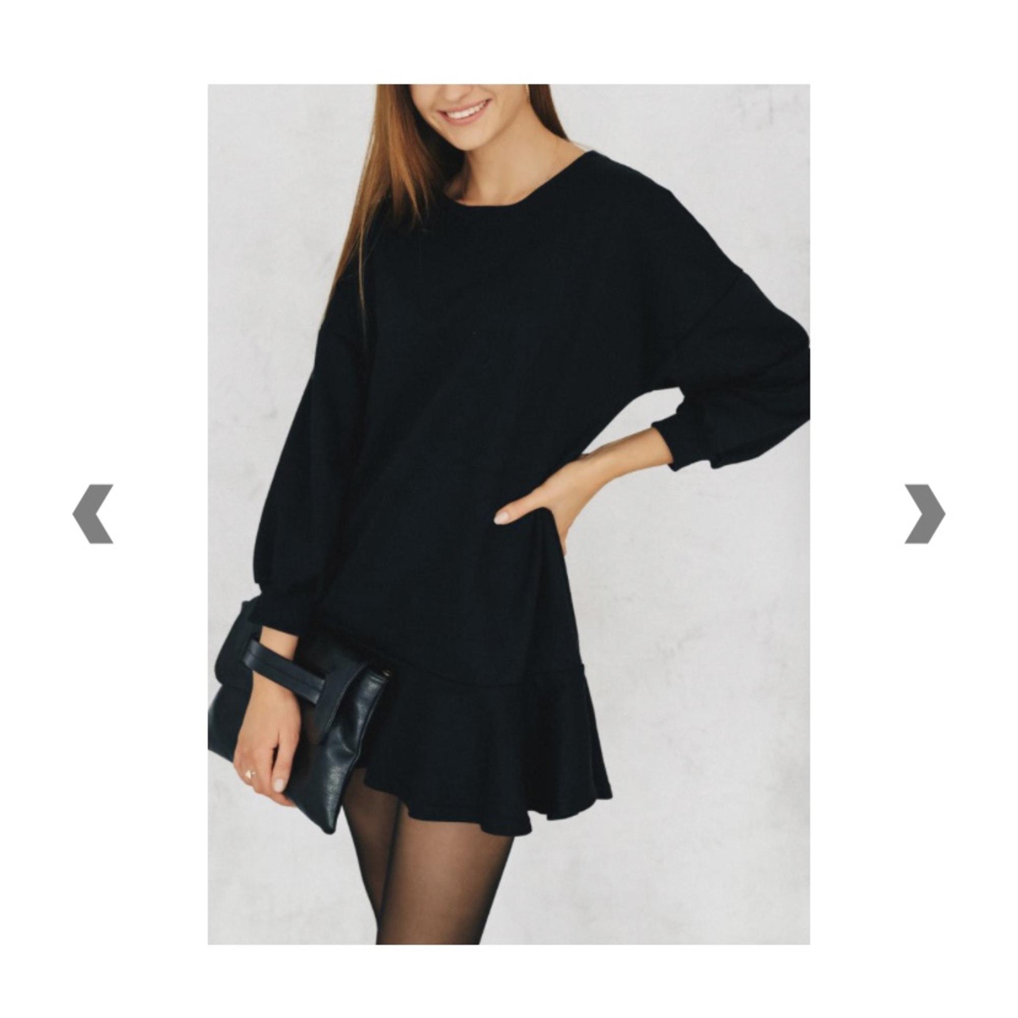 Robe courte PIARA Noir