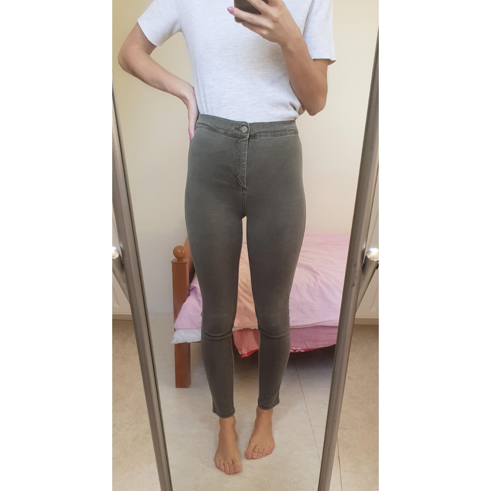 Jeans slim TOPSHOP Kaki