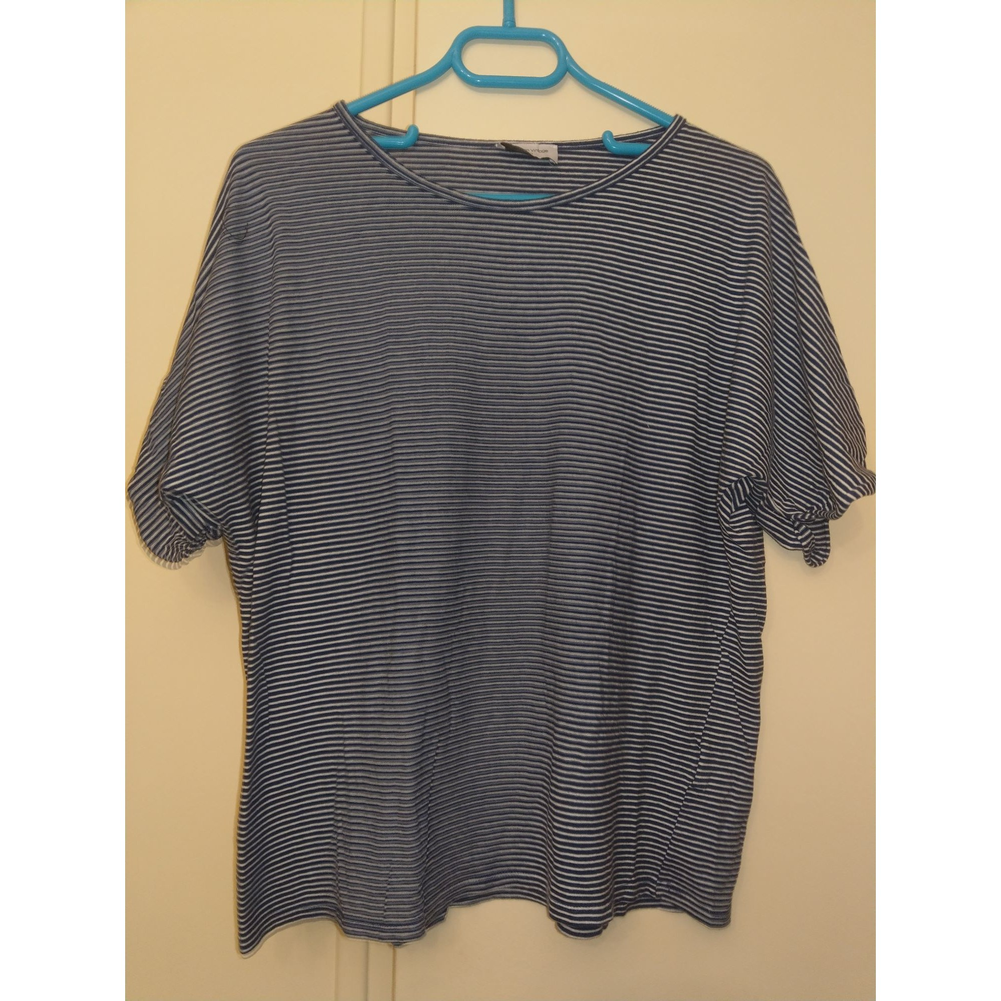 Tee-shirt AMERICAN VINTAGE Bleu, bleu marine, bleu turquoise