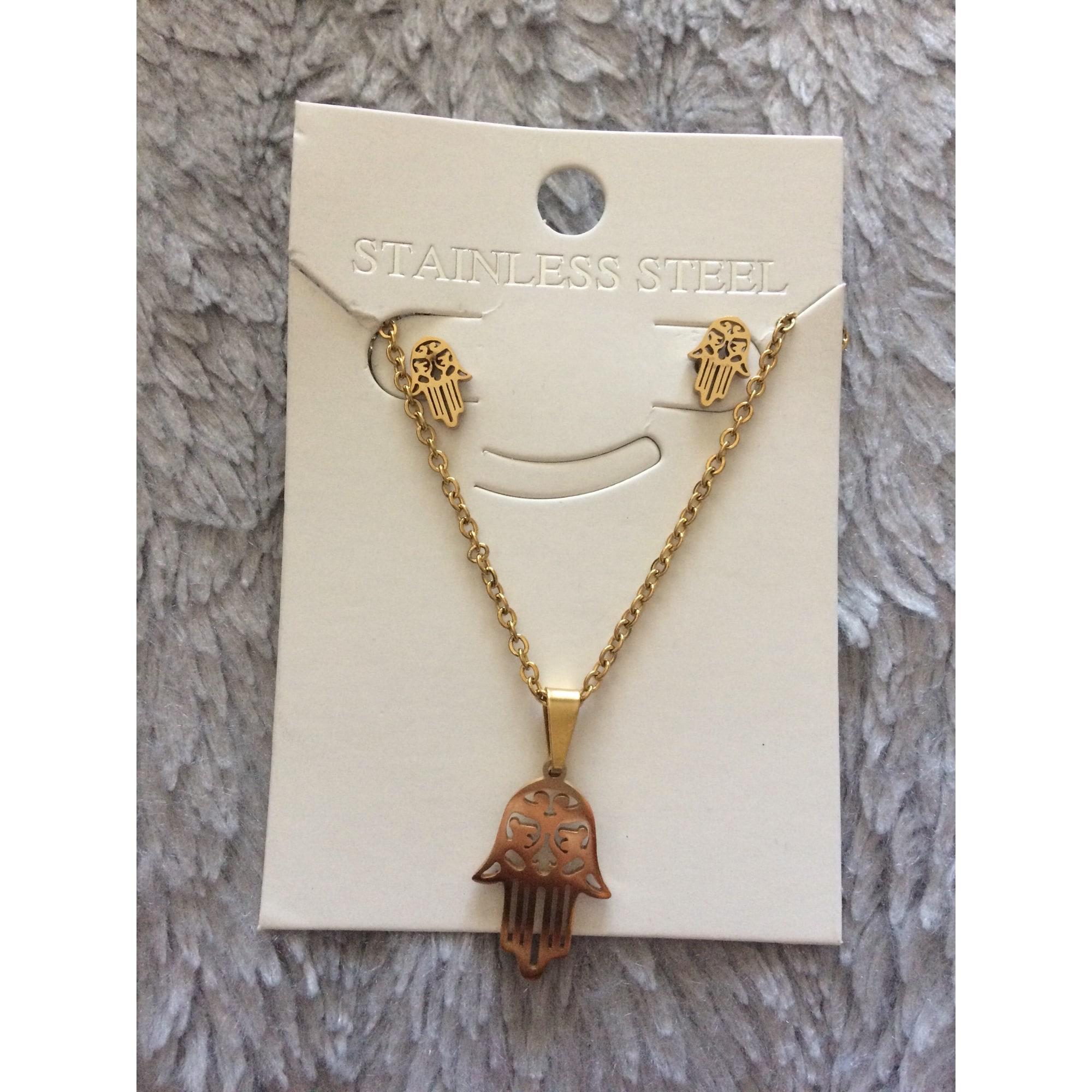 Pendentif, collier pendentif MARQUE INCONNUE Doré, bronze, cuivre