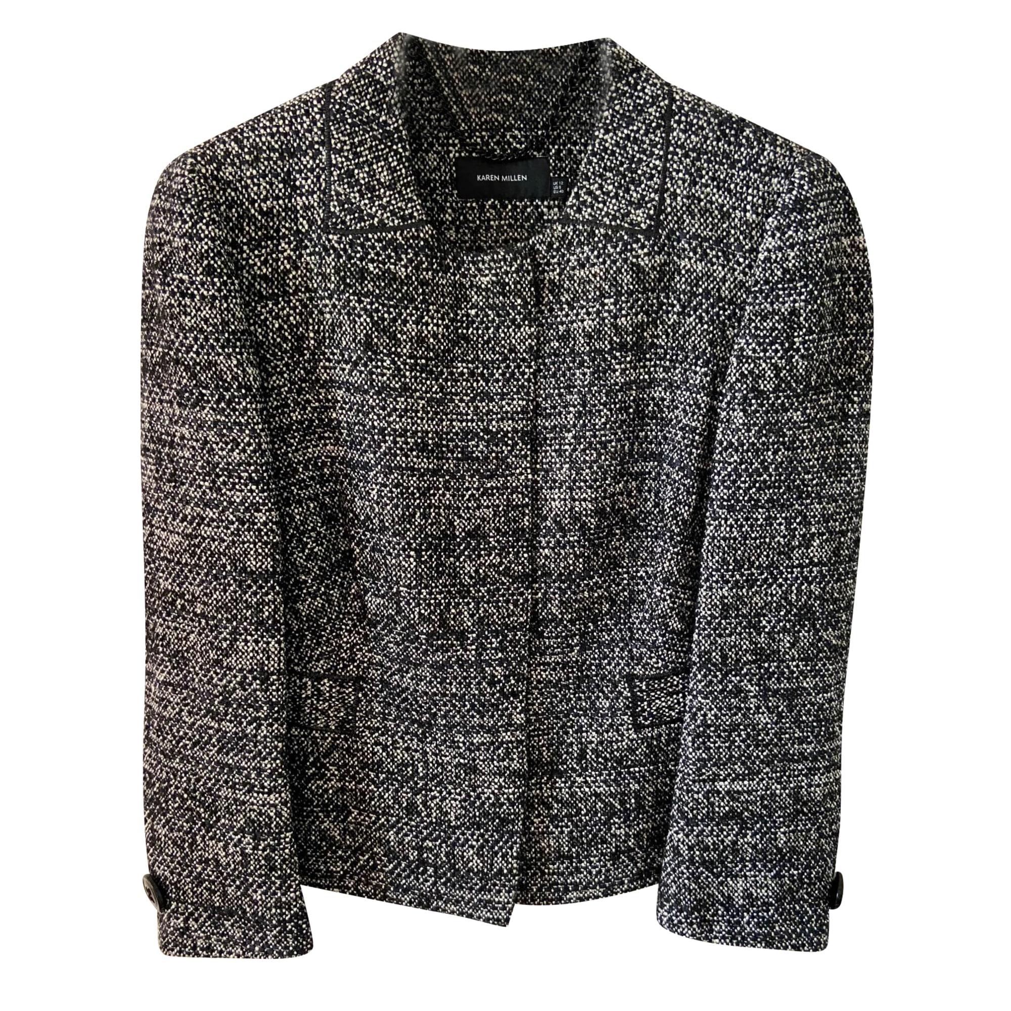Blazer, veste tailleur KAREN MILLEN Noir