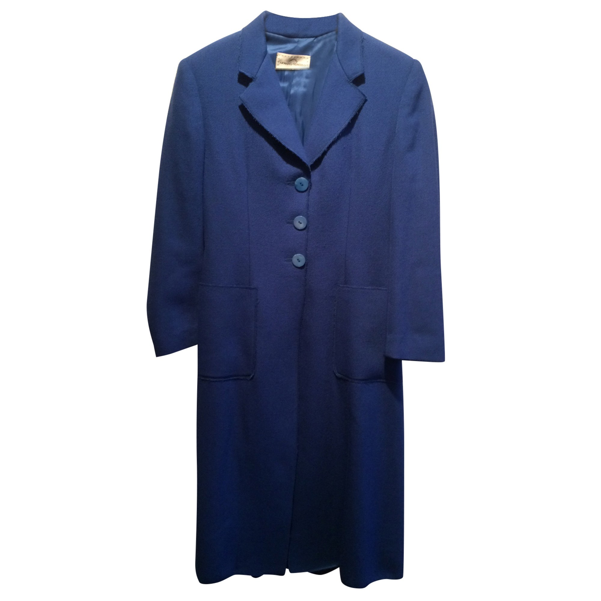 Manteau ARMAND VENTILO Bleu, bleu marine, bleu turquoise