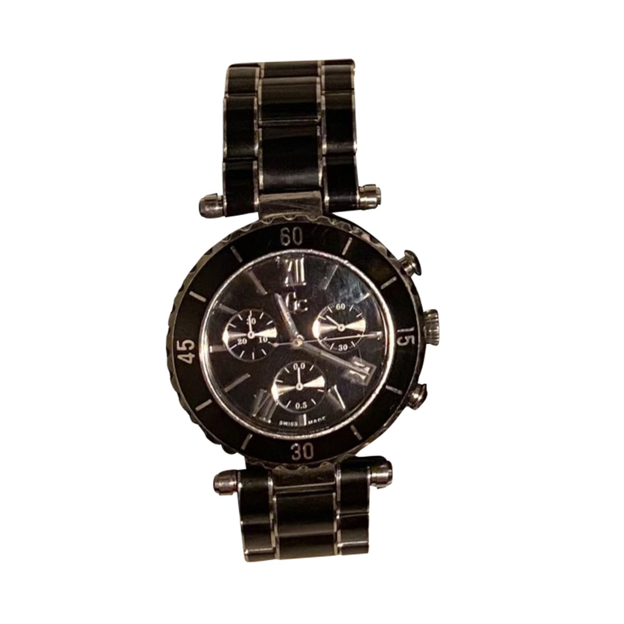 Armbanduhr GUESS Schwarz
