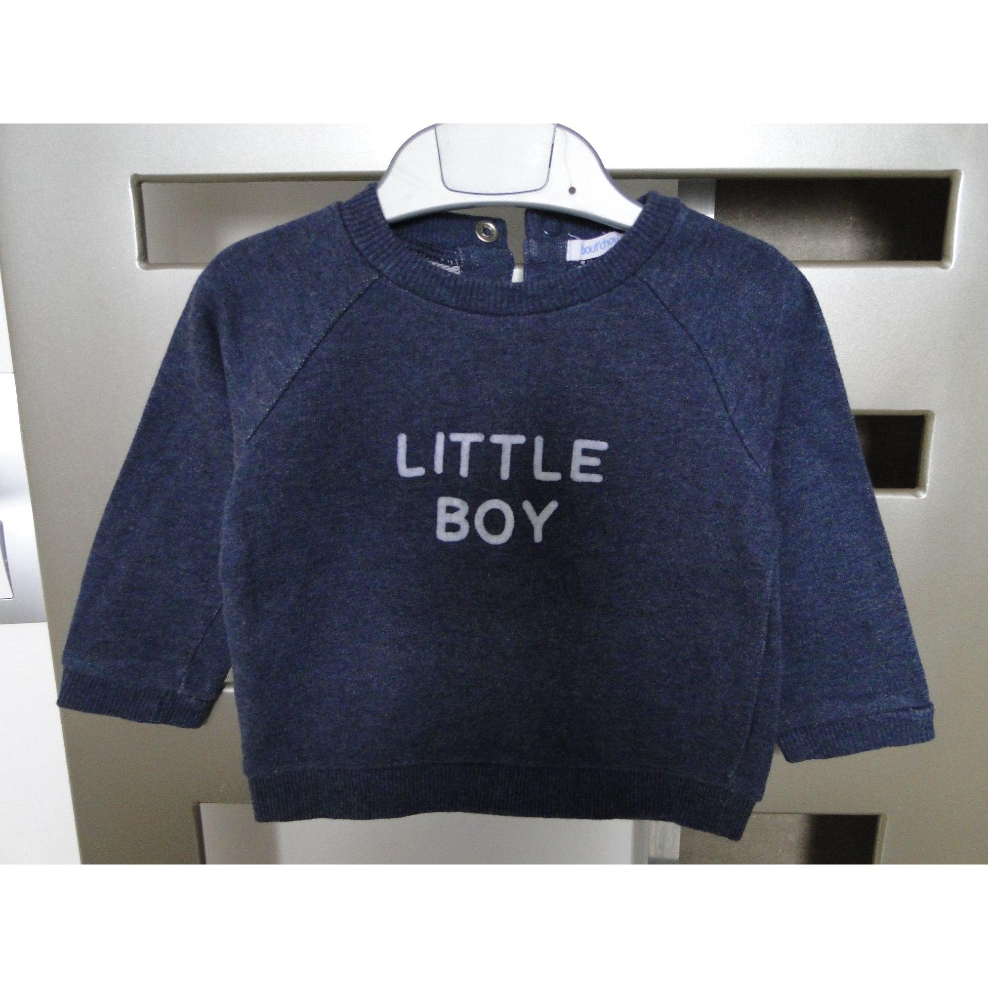 Sweatshirt BOUT'CHOU Blue, navy, turquoise