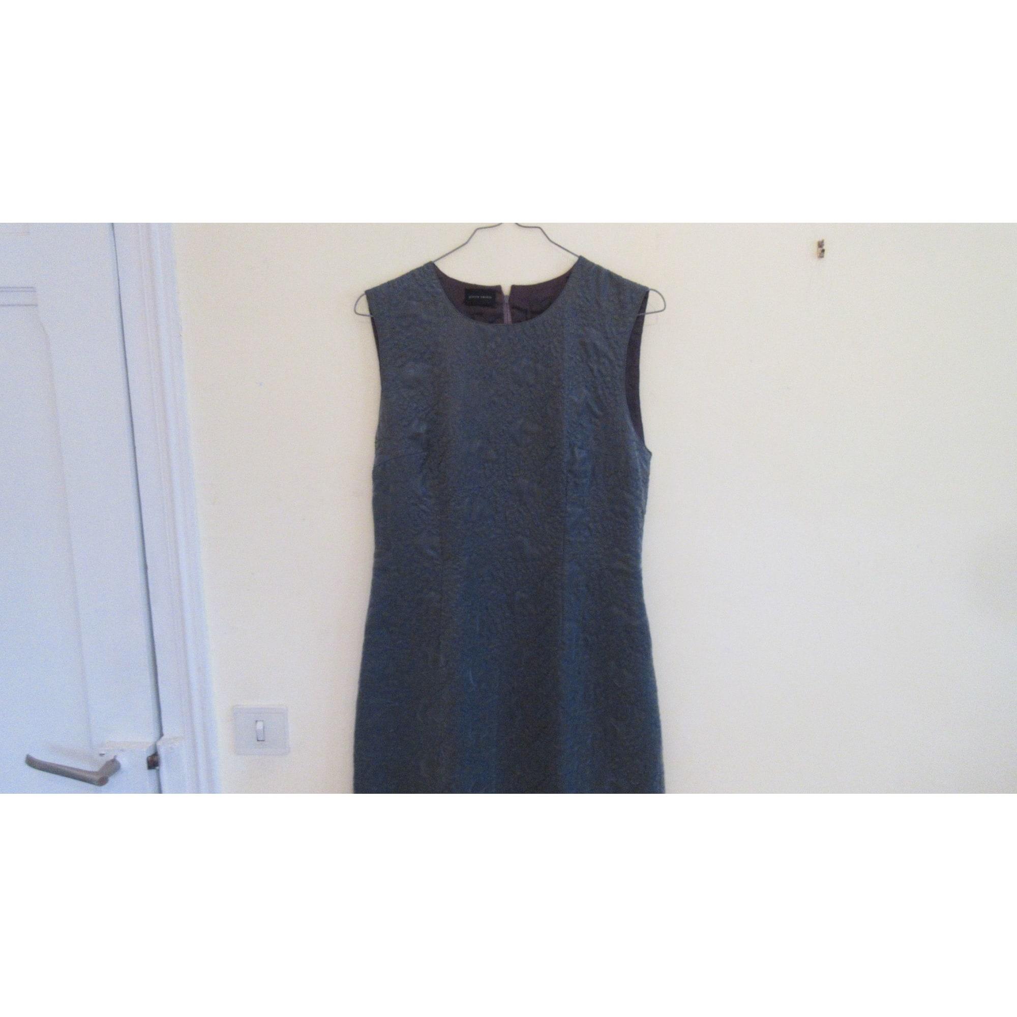 Mini-Kleid PIERRE CARDIN Silberfarben, stahlfarben