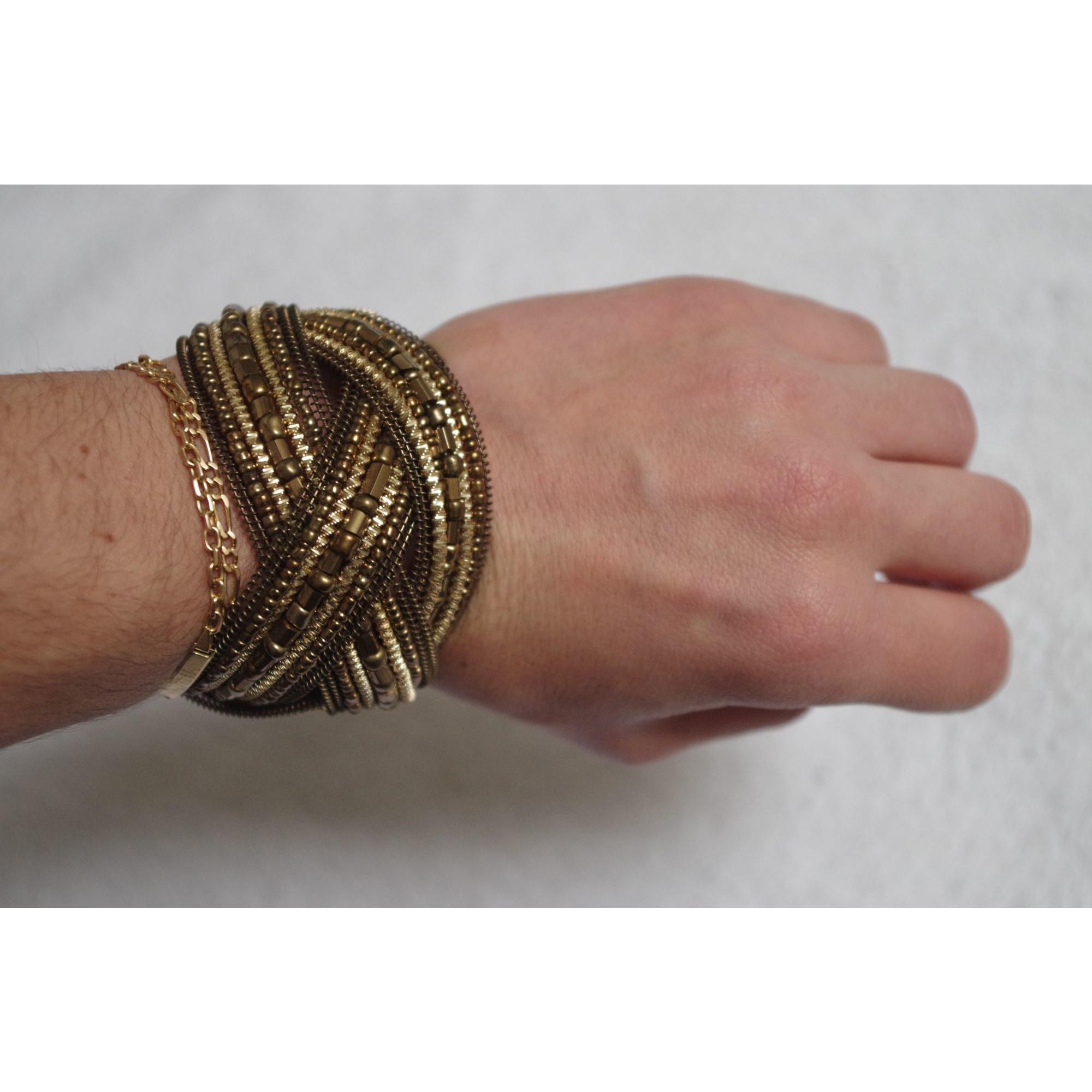 Bracelet BALA BOOSTÉ Doré, bronze, cuivre