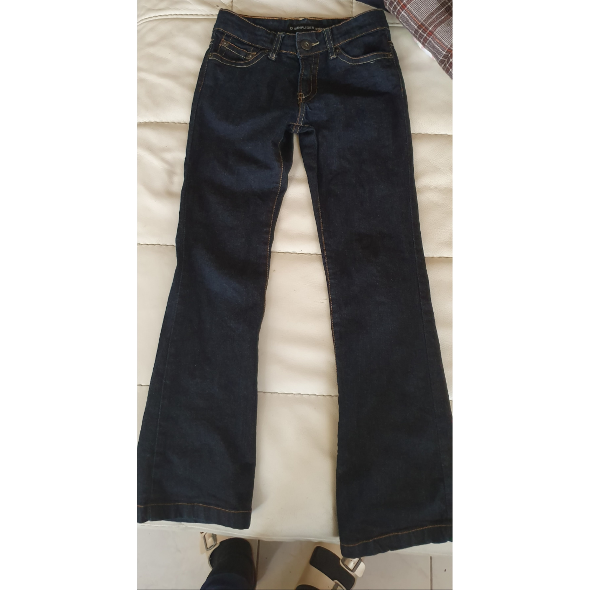 Pantalon COMPLICES Bleu, bleu marine, bleu turquoise