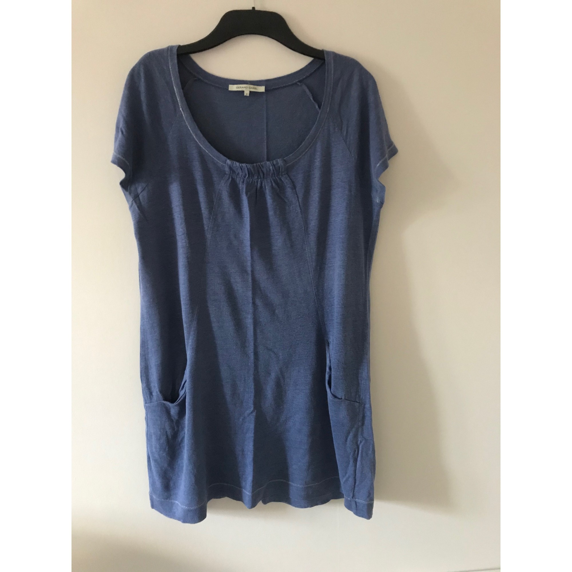 Robe courte GERARD DAREL Bleu, bleu marine, bleu turquoise