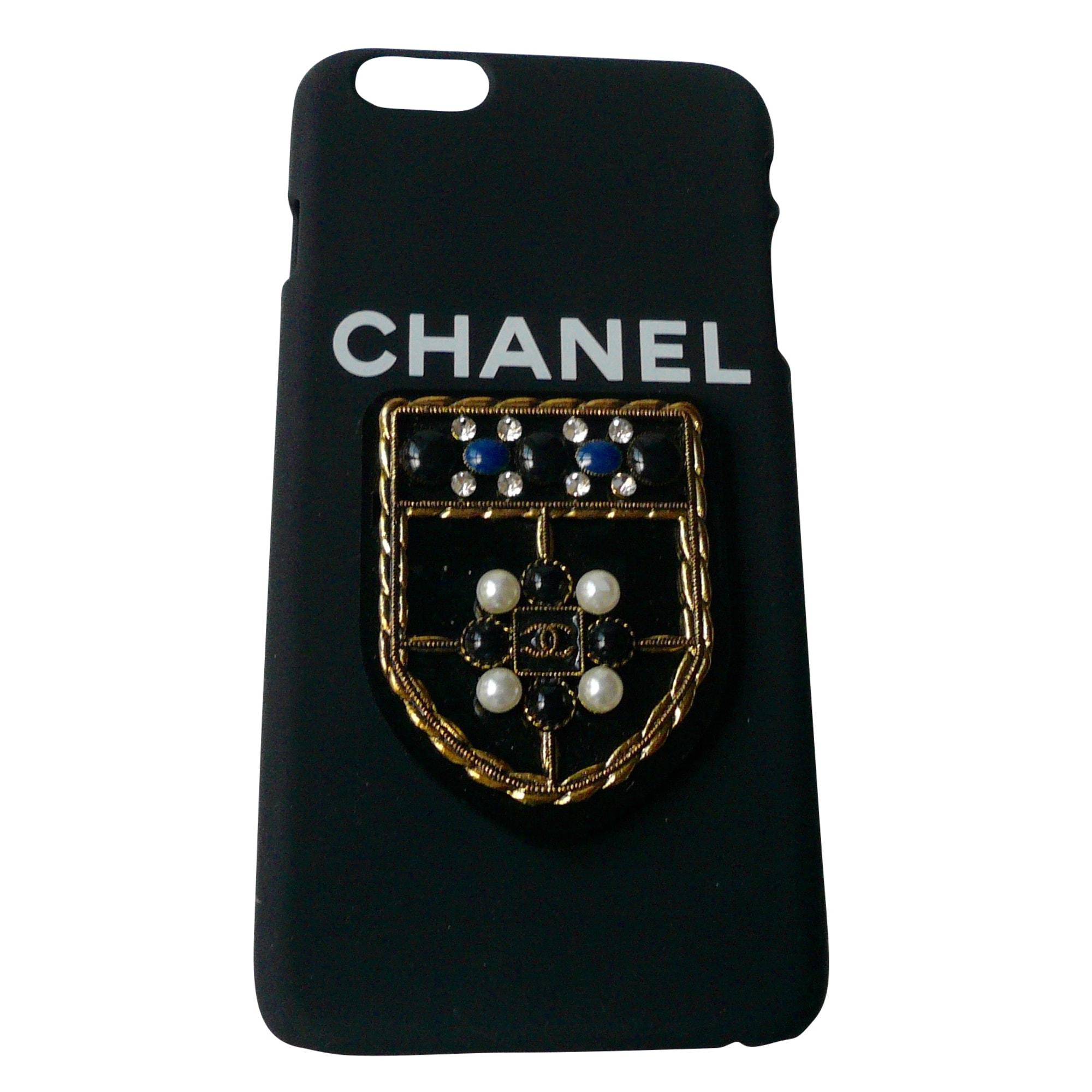 Etui iPhone  CHANEL Noir